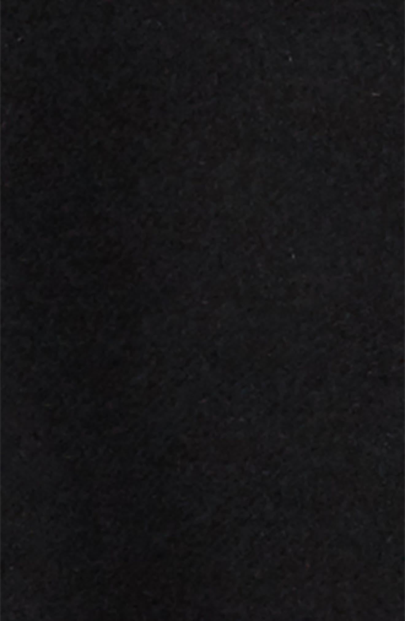 BURBERRY, Burford Double-Face Wool Duffel Coat, Alternate thumbnail 2, color, 001
