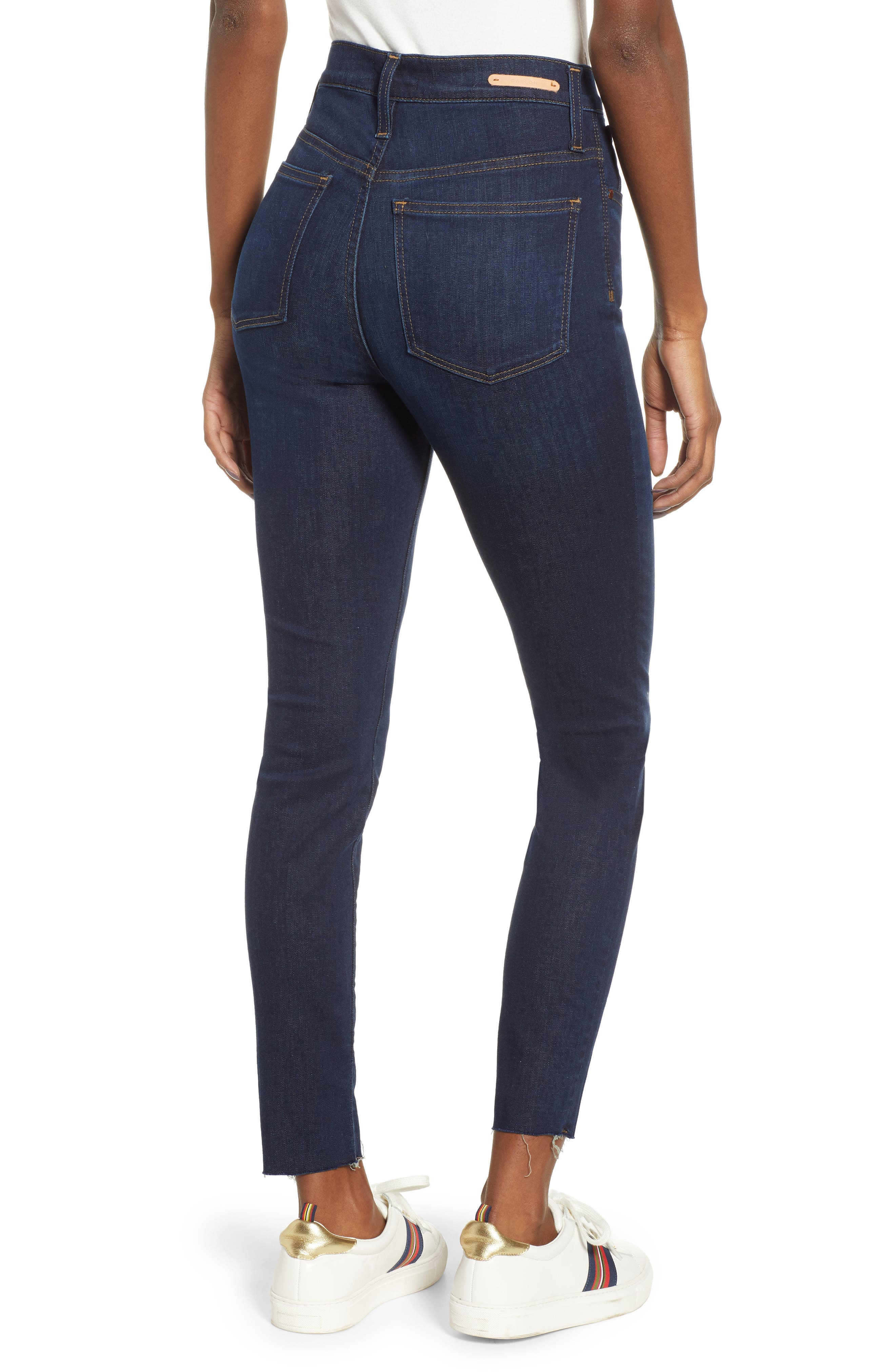 CASLON<SUP>®</SUP>, Sierra High Waist Skinny Jeans, Alternate thumbnail 2, color, 420