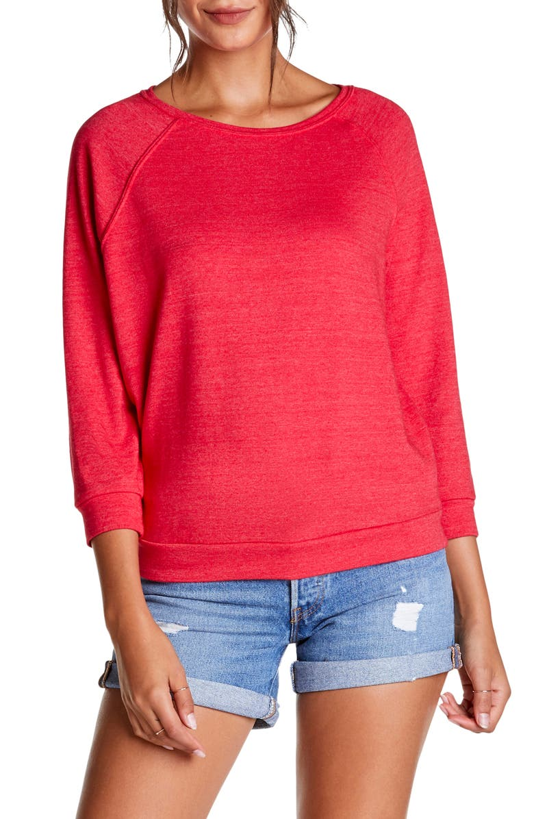 Michael Stars MEGHAN BOATNECK PULLOVER TOP