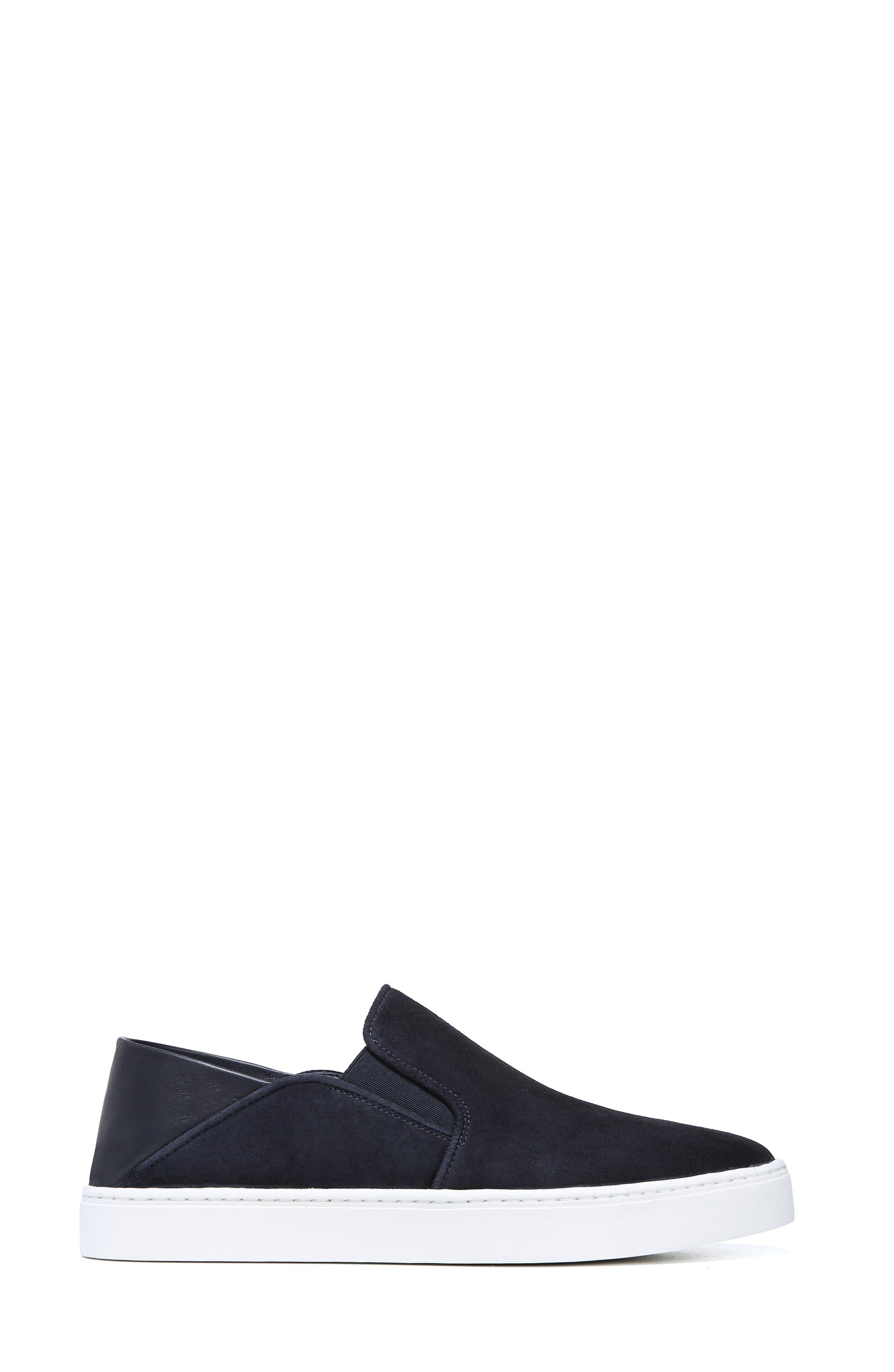 VINCE, Garvey Slip-On Sneaker, Alternate thumbnail 3, color, COASTAL