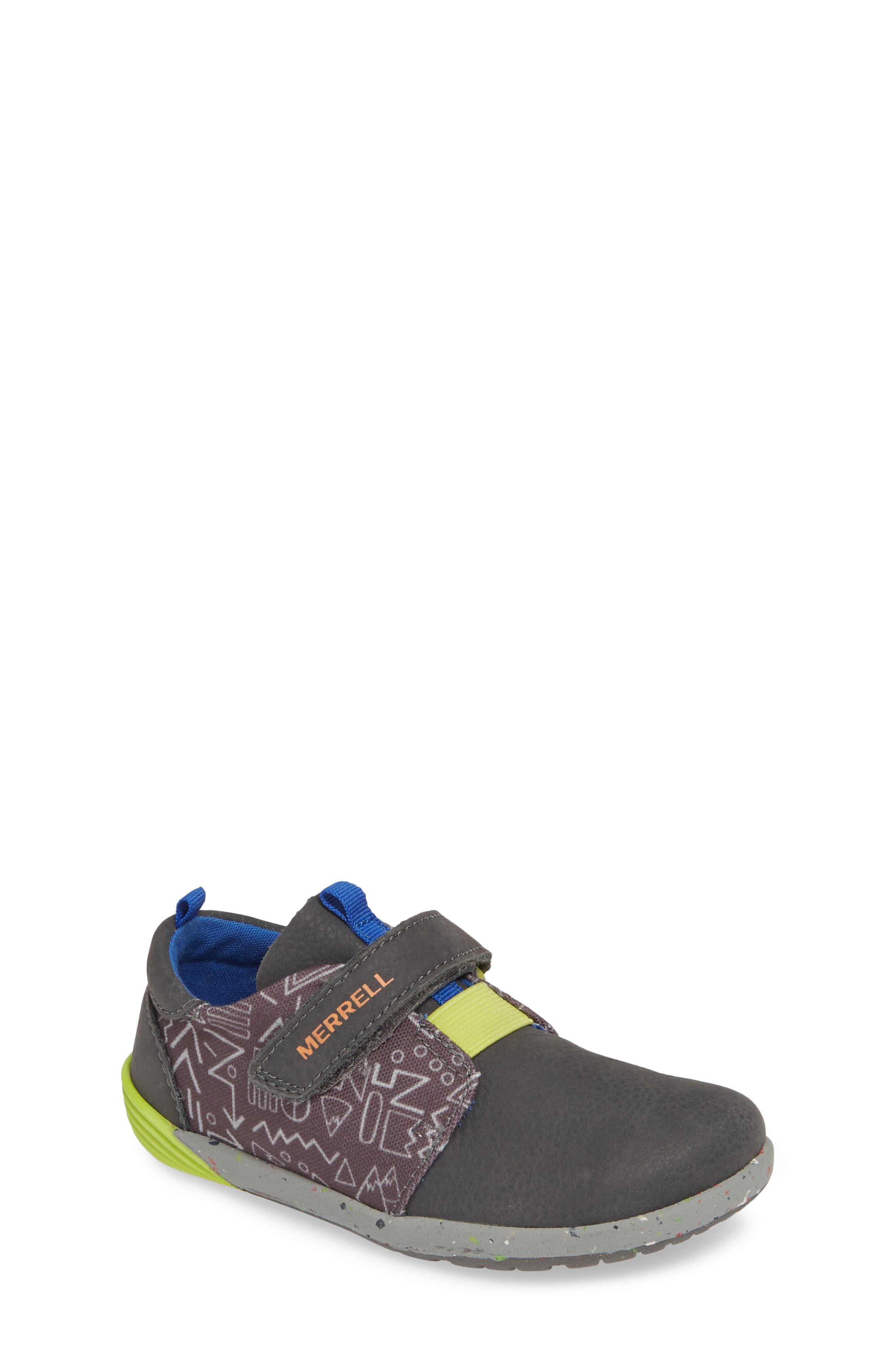 MERRELL, Bare Steps Sneaker, Main thumbnail 1, color, GREY