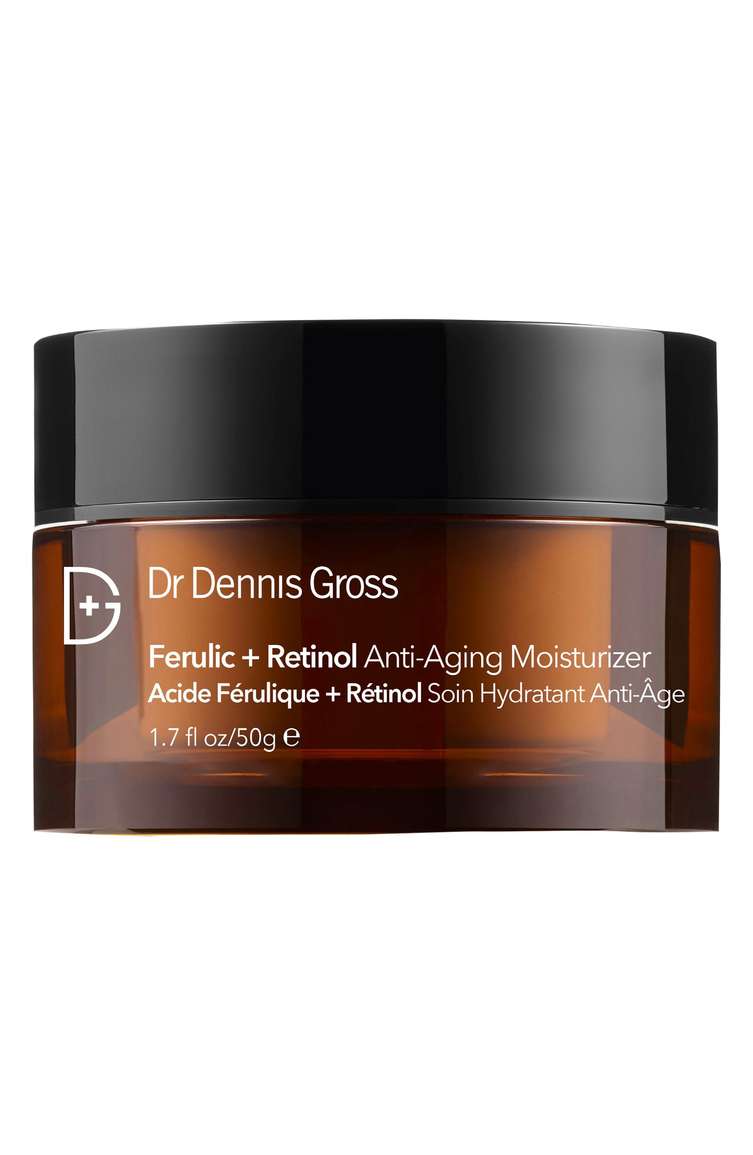 DR. DENNIS GROSS SKINCARE, Ferulic + Retinol Anti-Aging Moisturizer, Main thumbnail 1, color, NO COLOR
