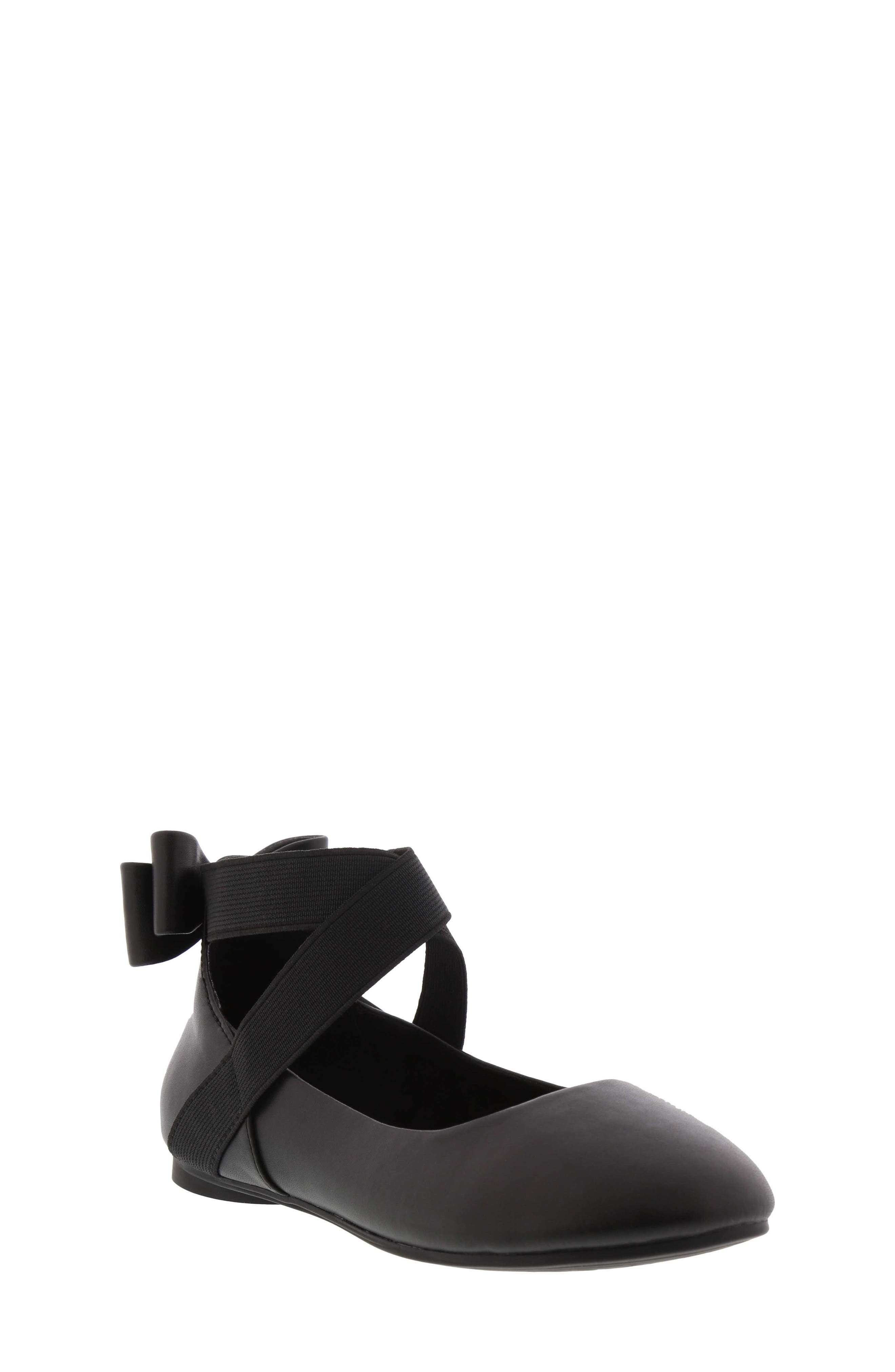 KENNETH COLE NEW YORK Strappy Ballet Flat, Main, color, 001