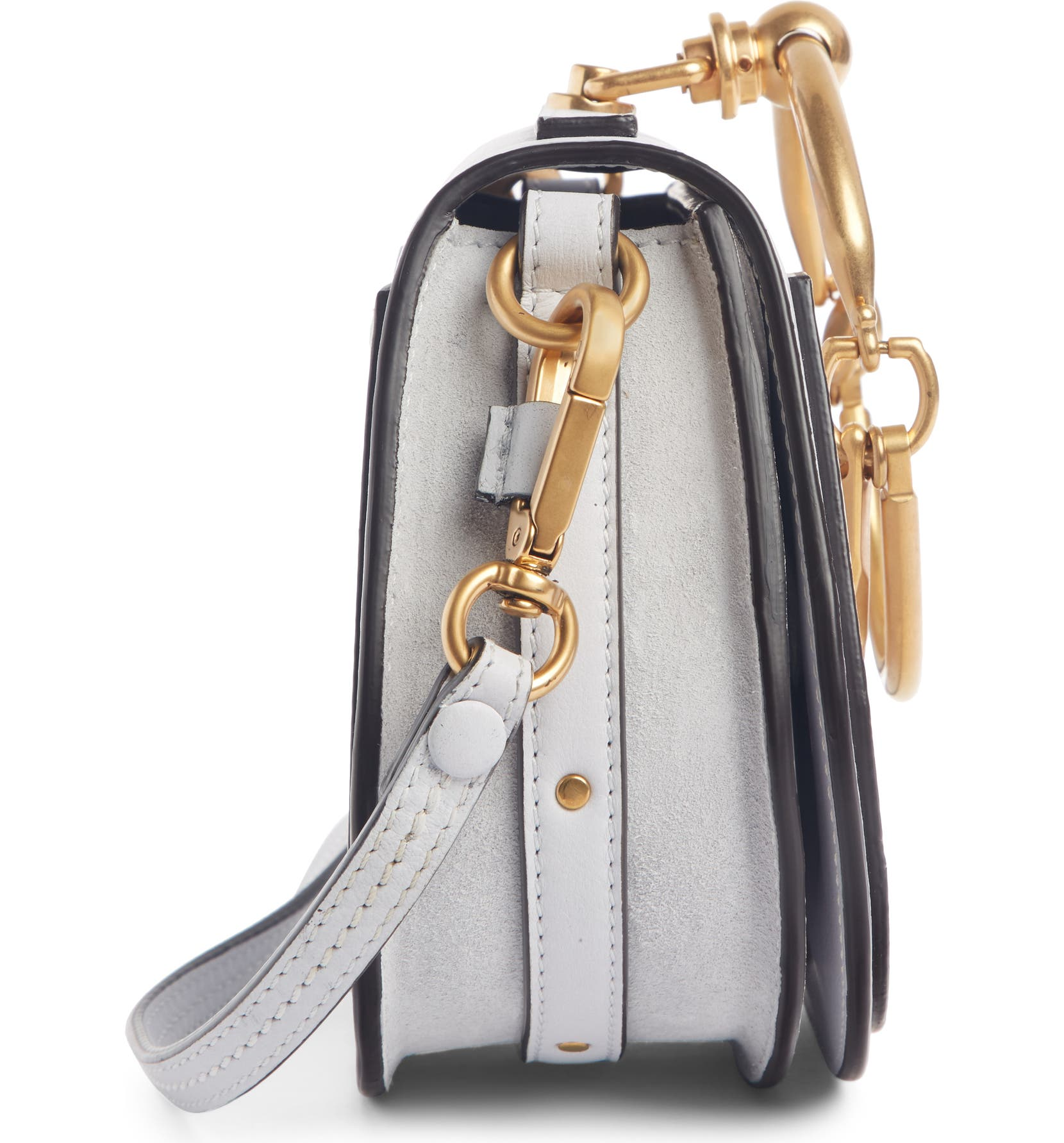 921ee261ba93 Chloé Small Nile Bracelet Leather Crossbody Bag