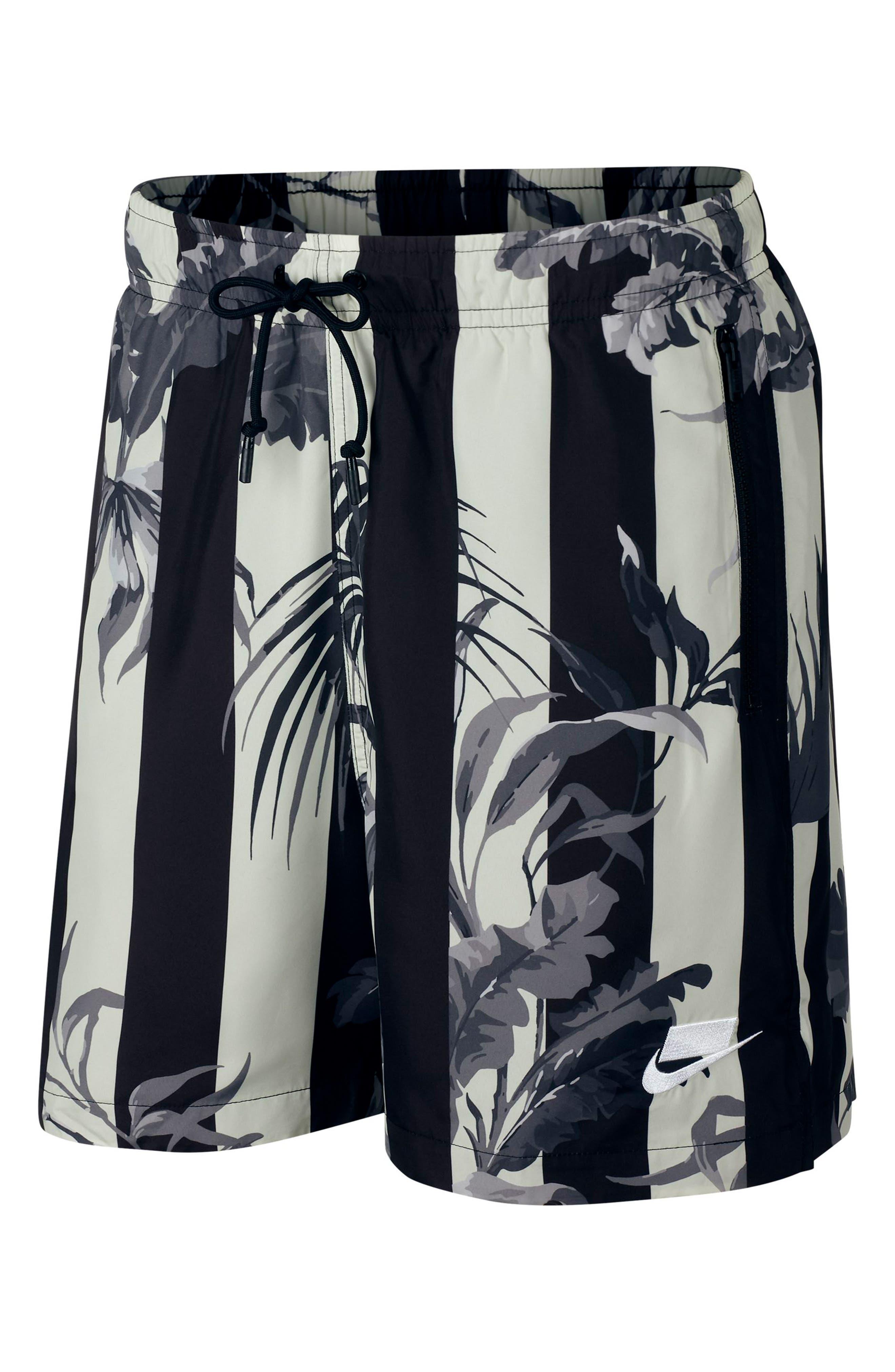 NIKE, Sportswear NSW Men's Shorts, Alternate thumbnail 2, color, BLACK/ WHITE
