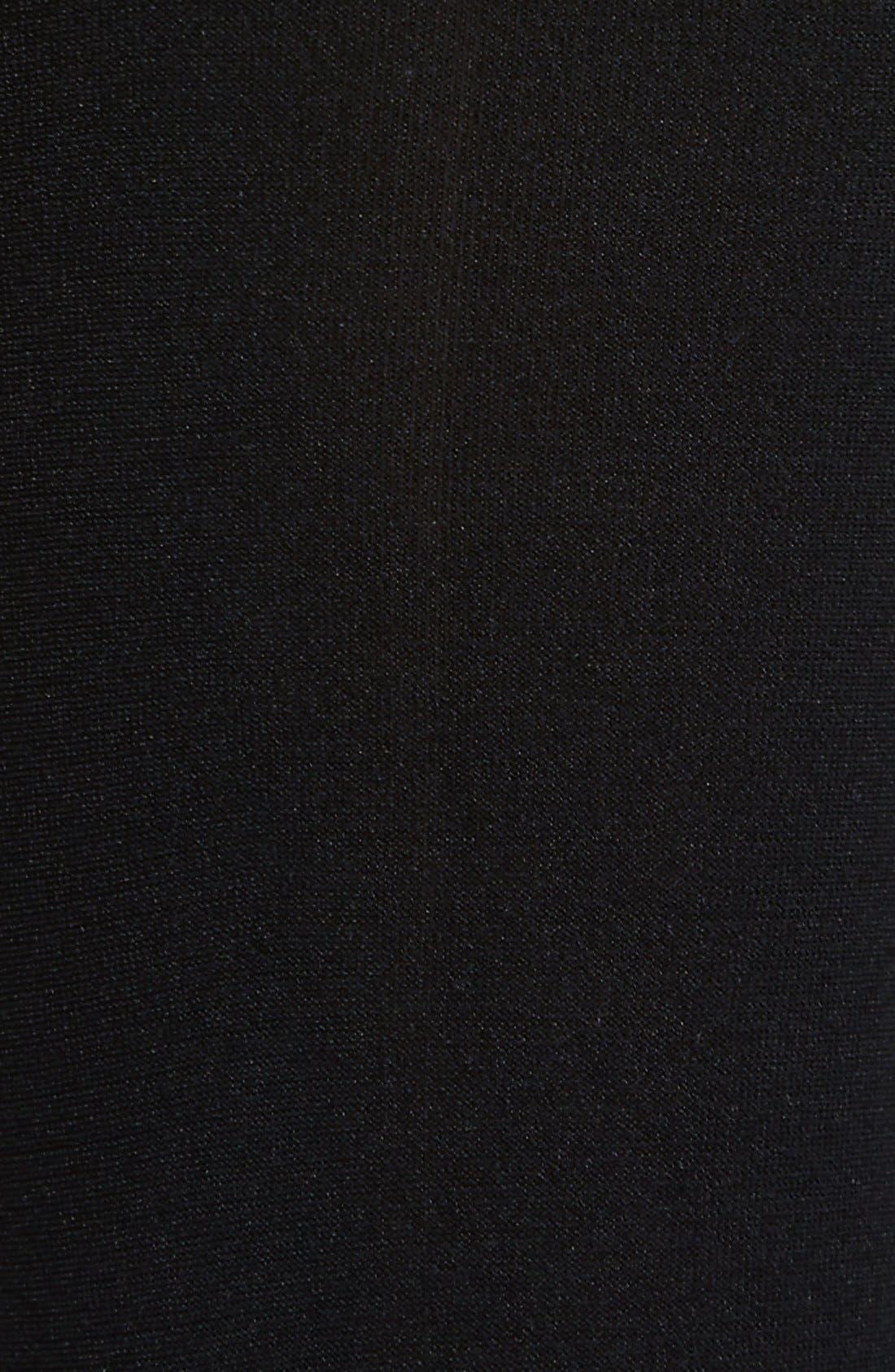 COMMANDO, Up All Night Thigh High Socks, Alternate thumbnail 3, color, BLACK