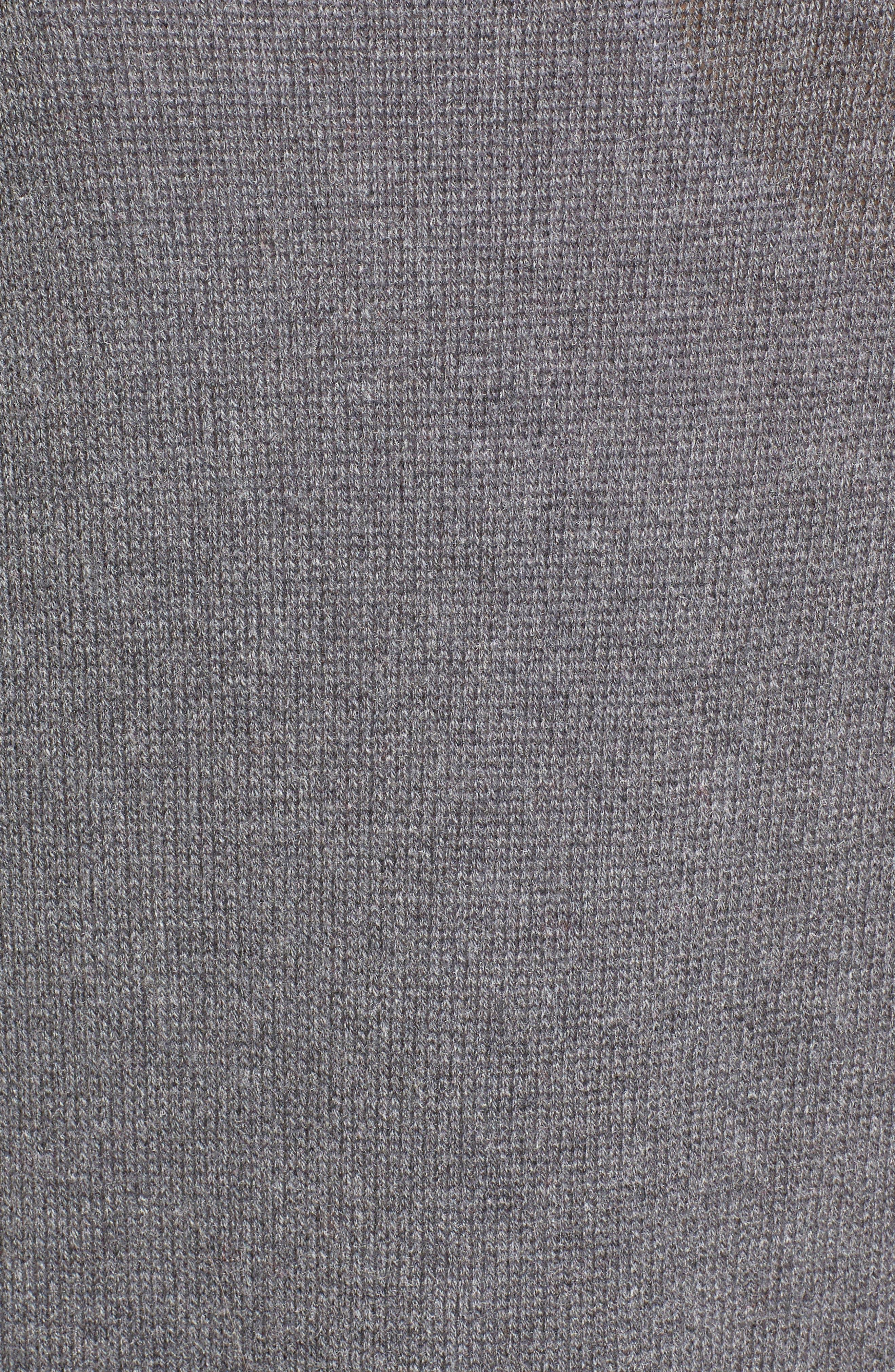 LEITH, Easy Circle Cardigan, Alternate thumbnail 5, color, 031