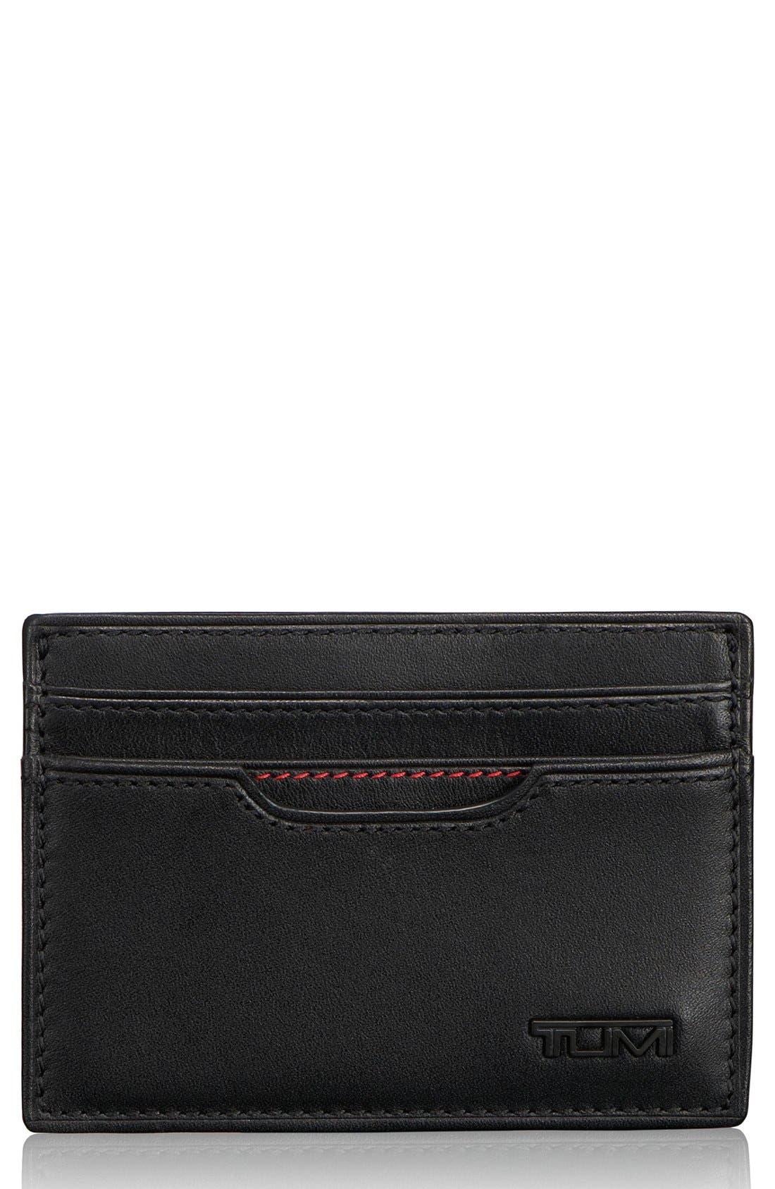 TUMI, Delta - ID Lock<sup>™</sup> Shielded Money Clip Card Case, Main thumbnail 1, color, BLACK