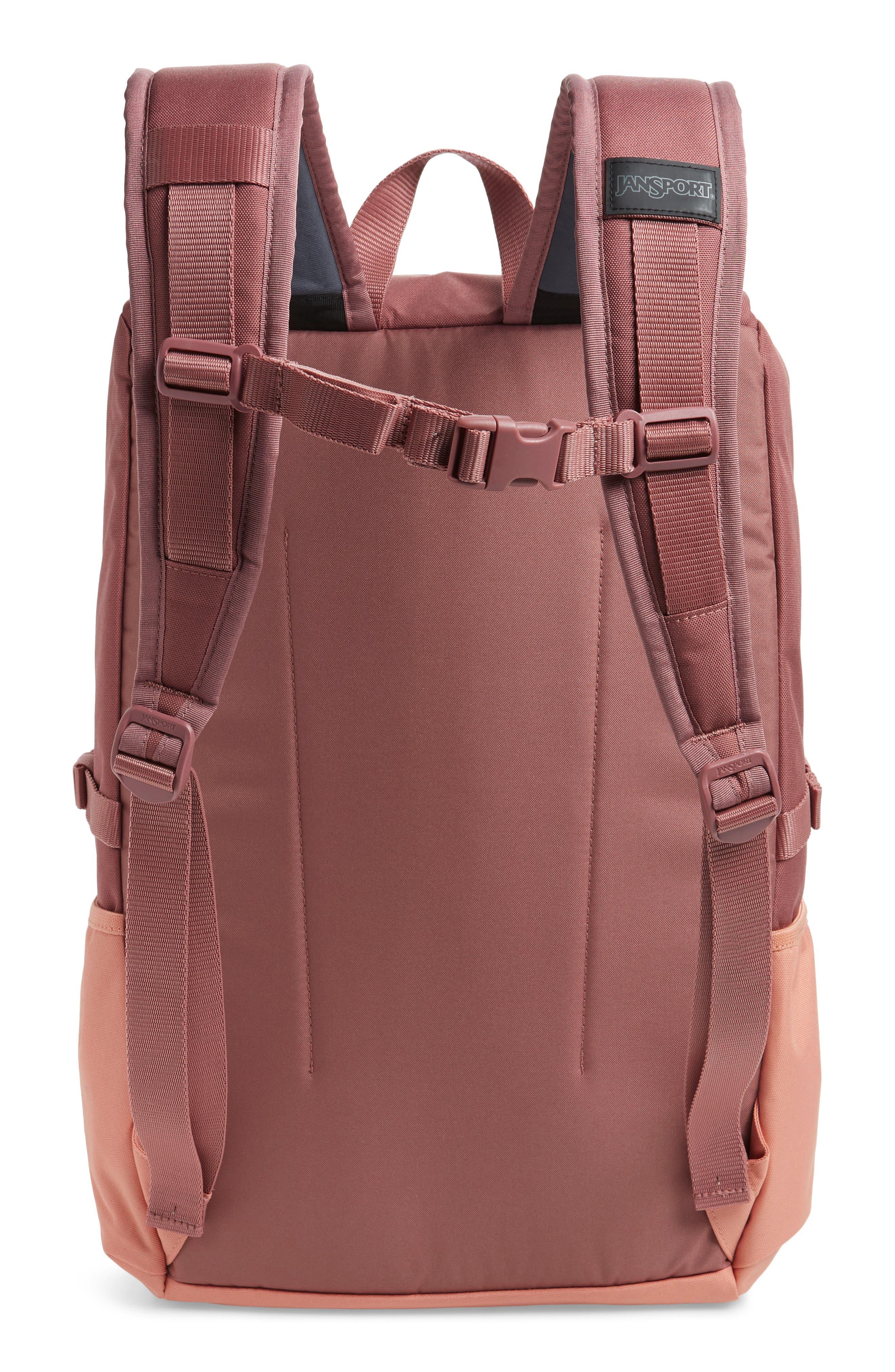 JANSPORT, Hatchet Backpack, Alternate thumbnail 4, color, MOCHA/ CLAY