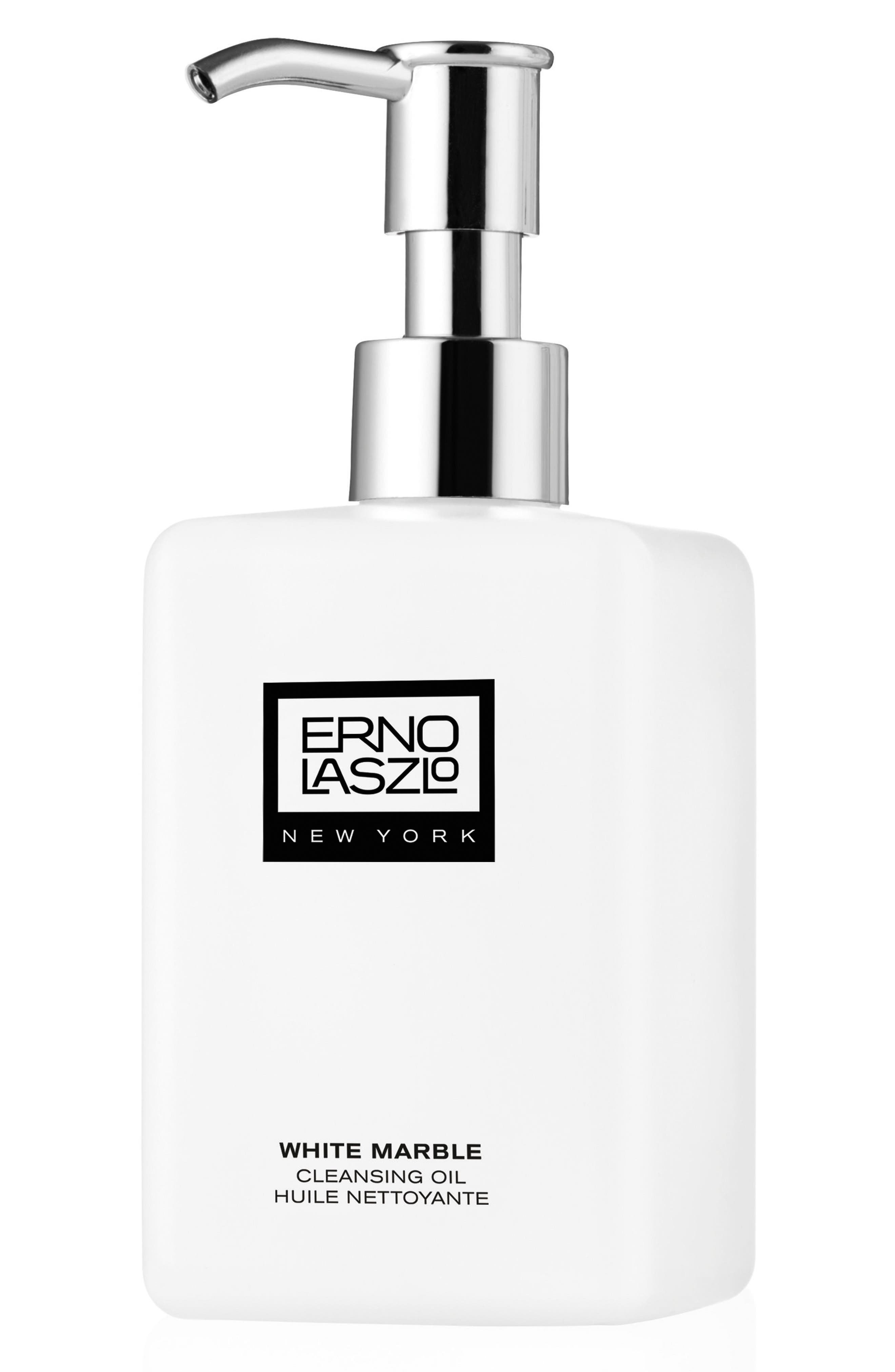 ERNO LASZLO, White Marble Cleansing Oil, Main thumbnail 1, color, NO COLOR