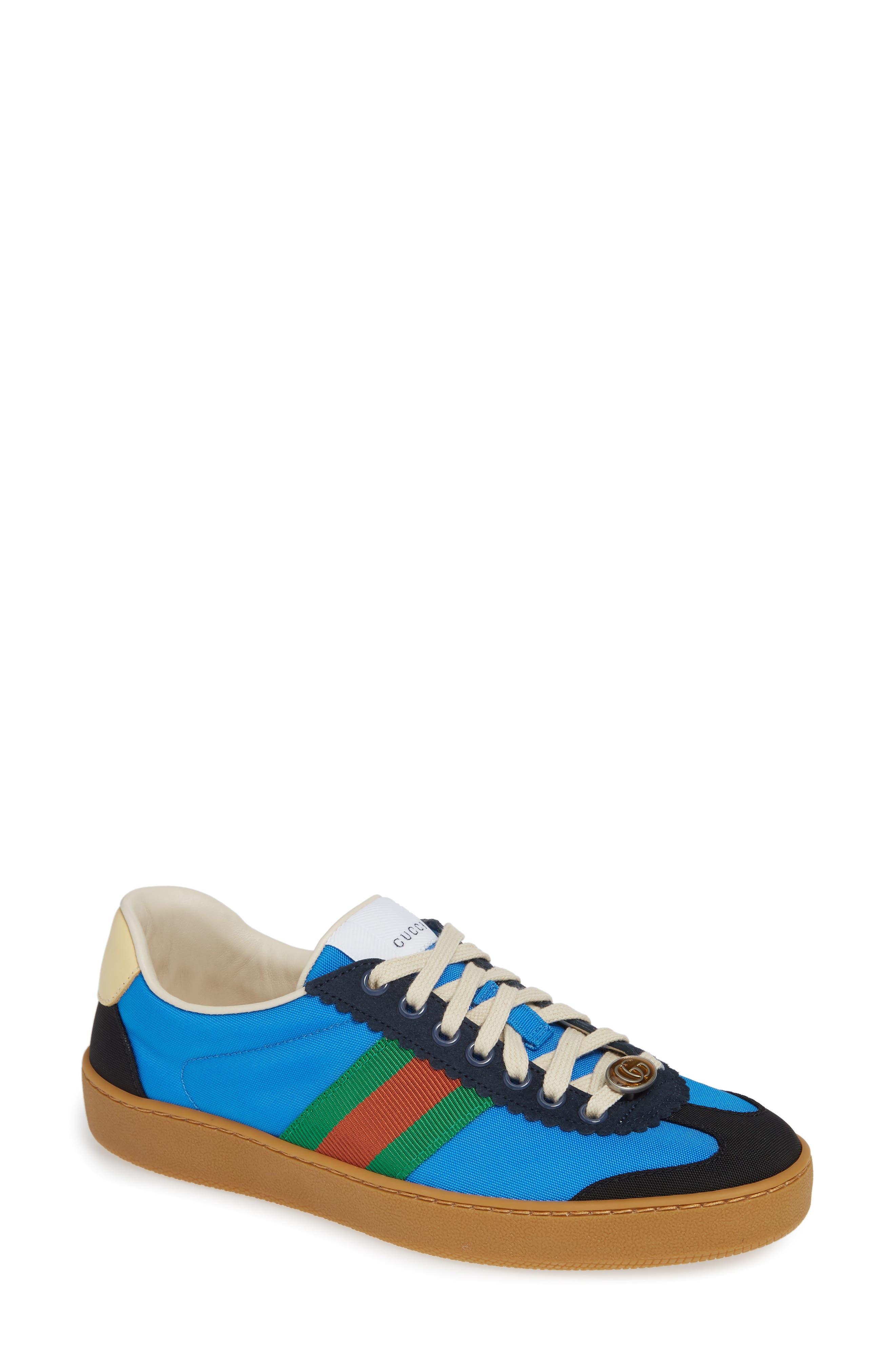 GUCCI, G74 Low Top Sneaker, Main thumbnail 1, color, 400