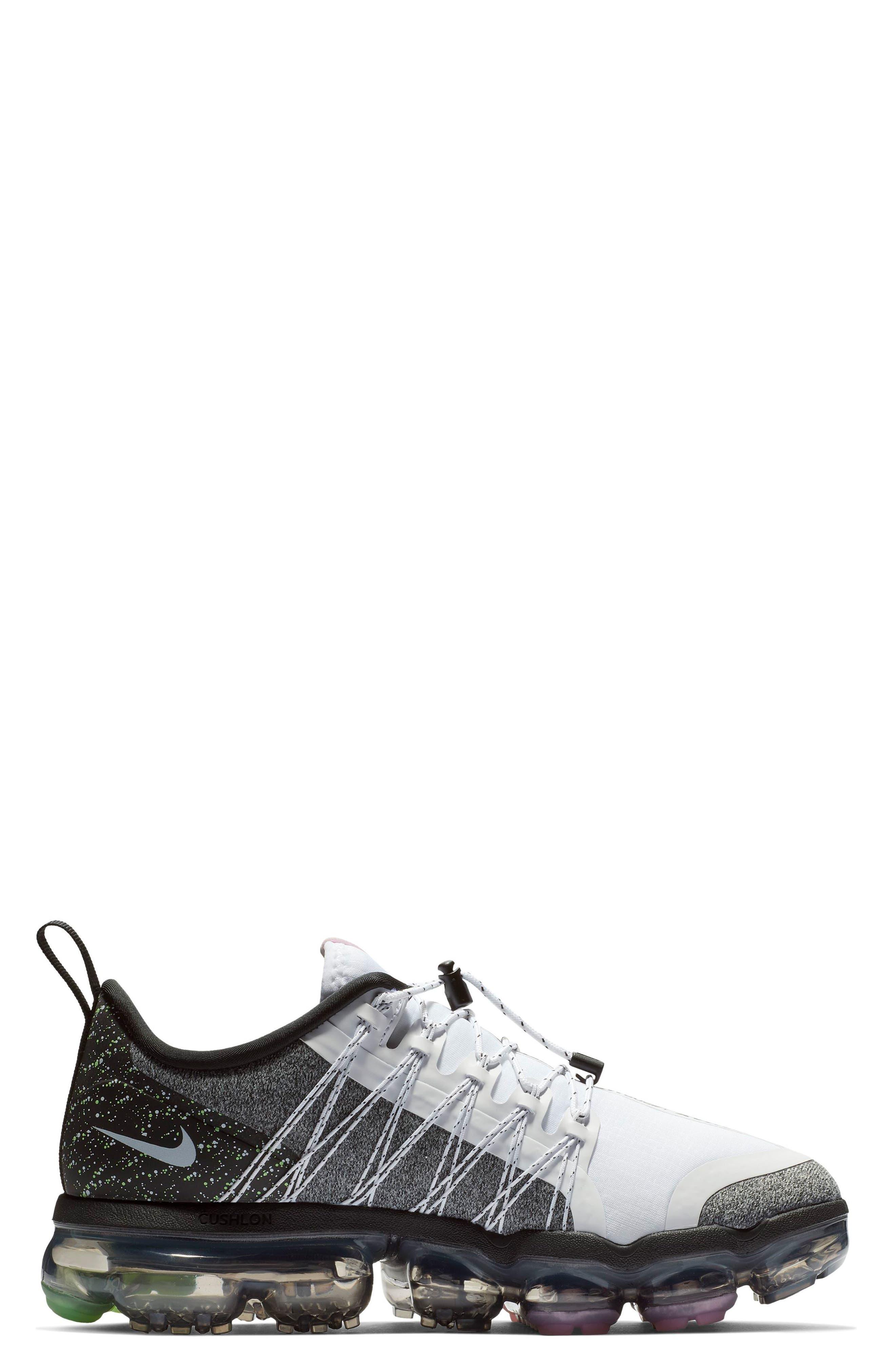 NIKE, Air VaporMax Run Utility Sneaker, Alternate thumbnail 3, color, 101