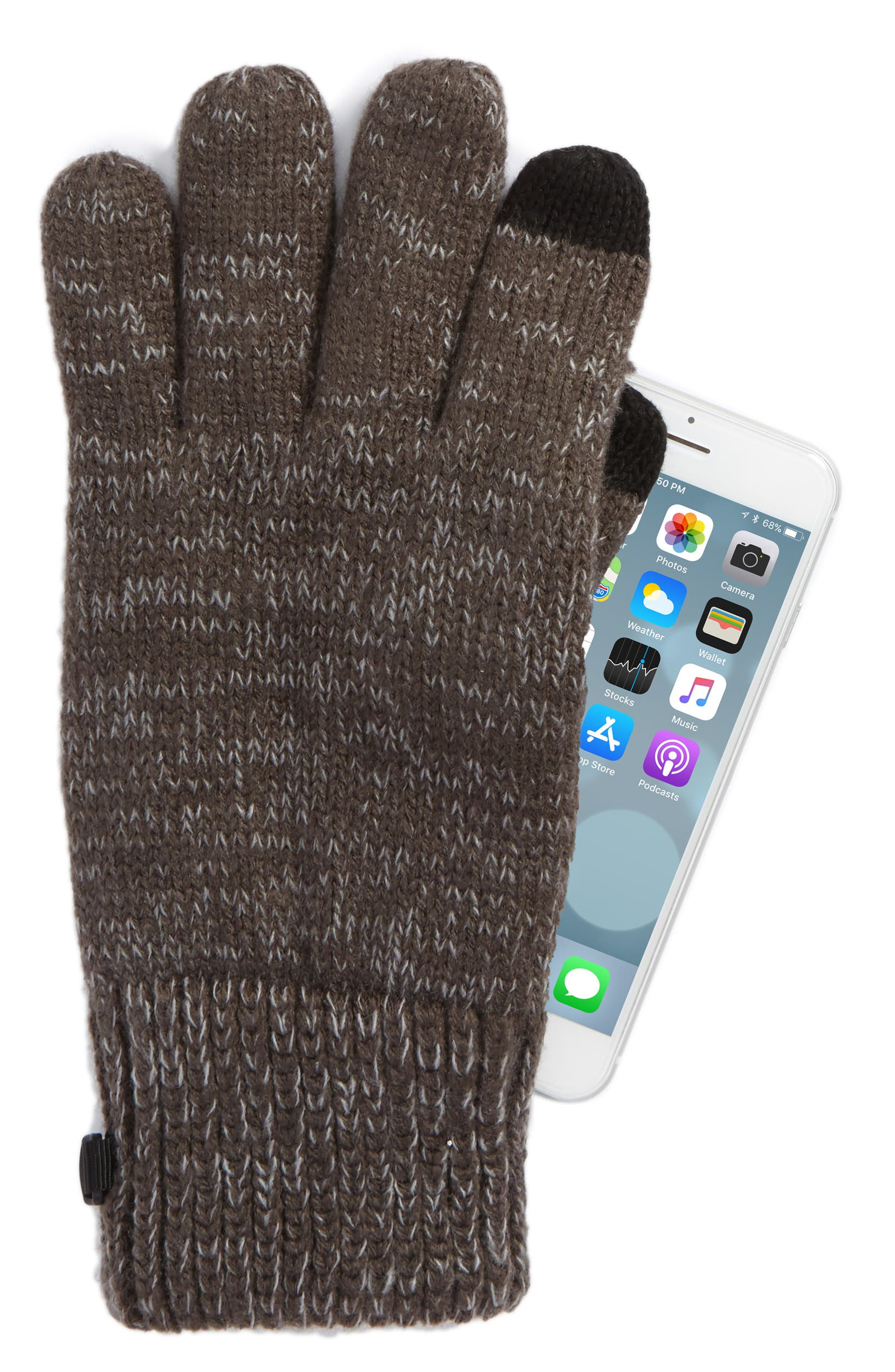 2aa97d32931 The North Face Etip Salty Dog Knit Tech Gloves