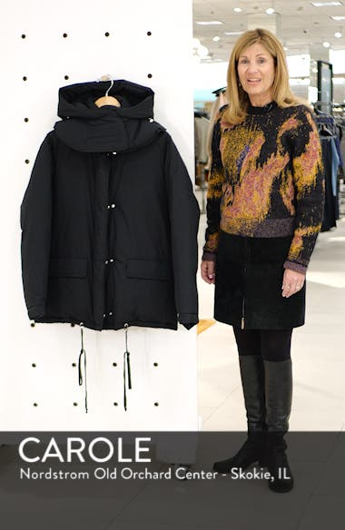 Removable Hood Puffer Jacket, sales video thumbnail
