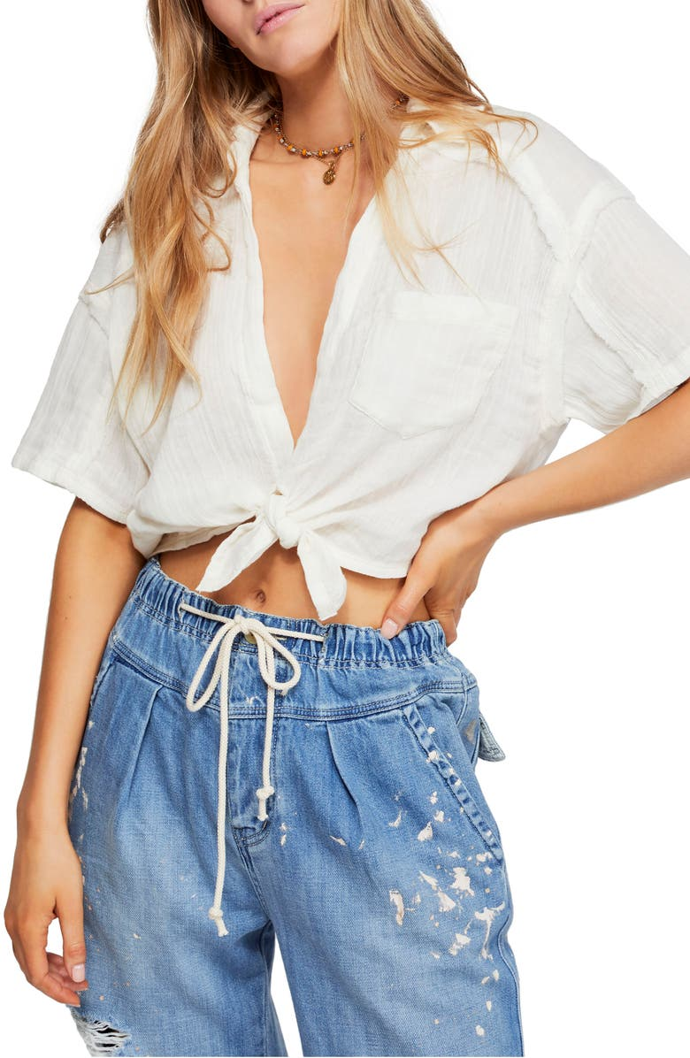 Free People Tops FULL OF LIGHT TOP