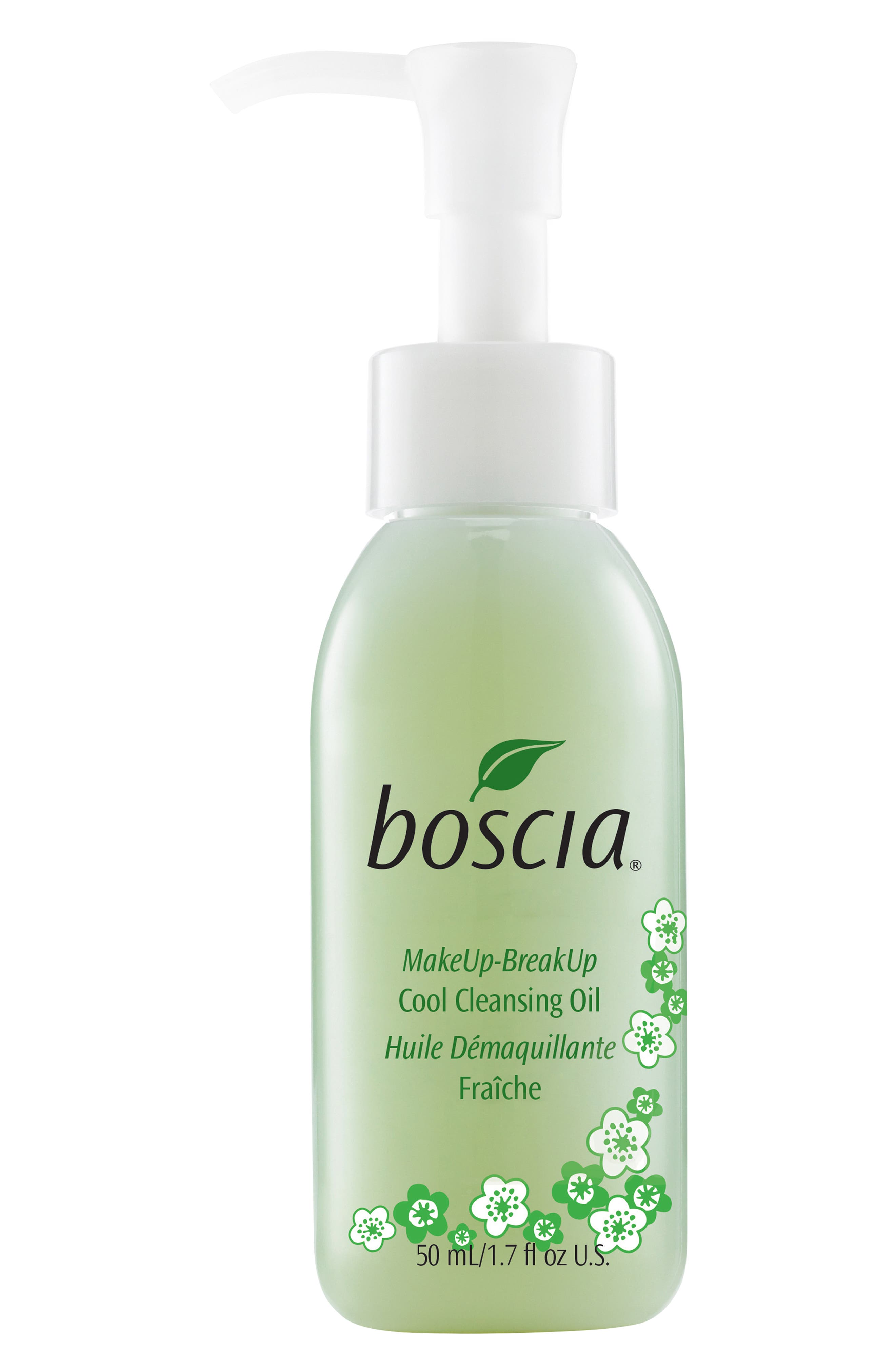 BOSCIA, MakeUp-BreakUp Cool Cleansing Oil, Alternate thumbnail 3, color, NO COLOR