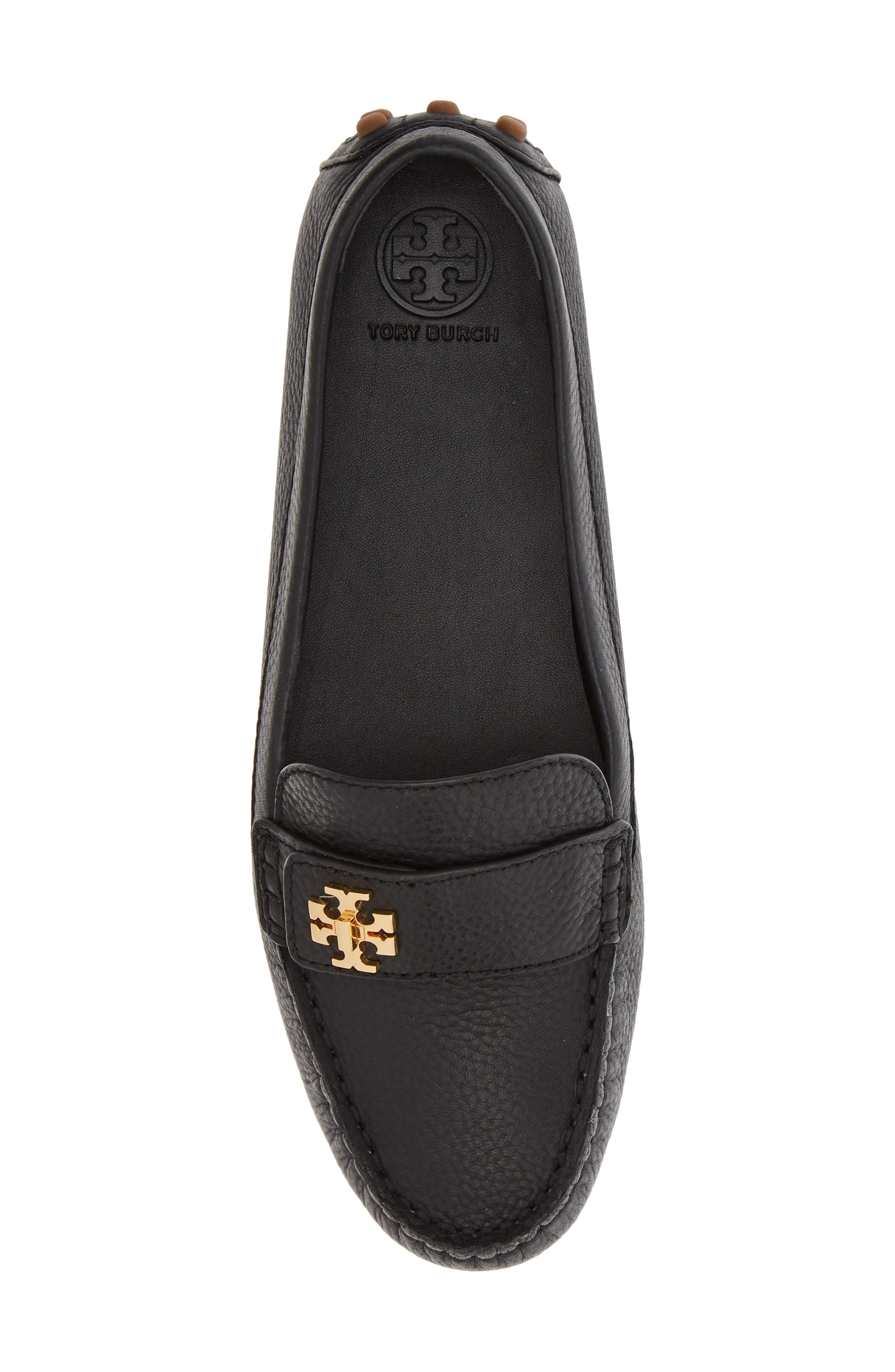 TORY BURCH, Kira Driving Loafer, Alternate thumbnail 5, color, PERFECT BLACK