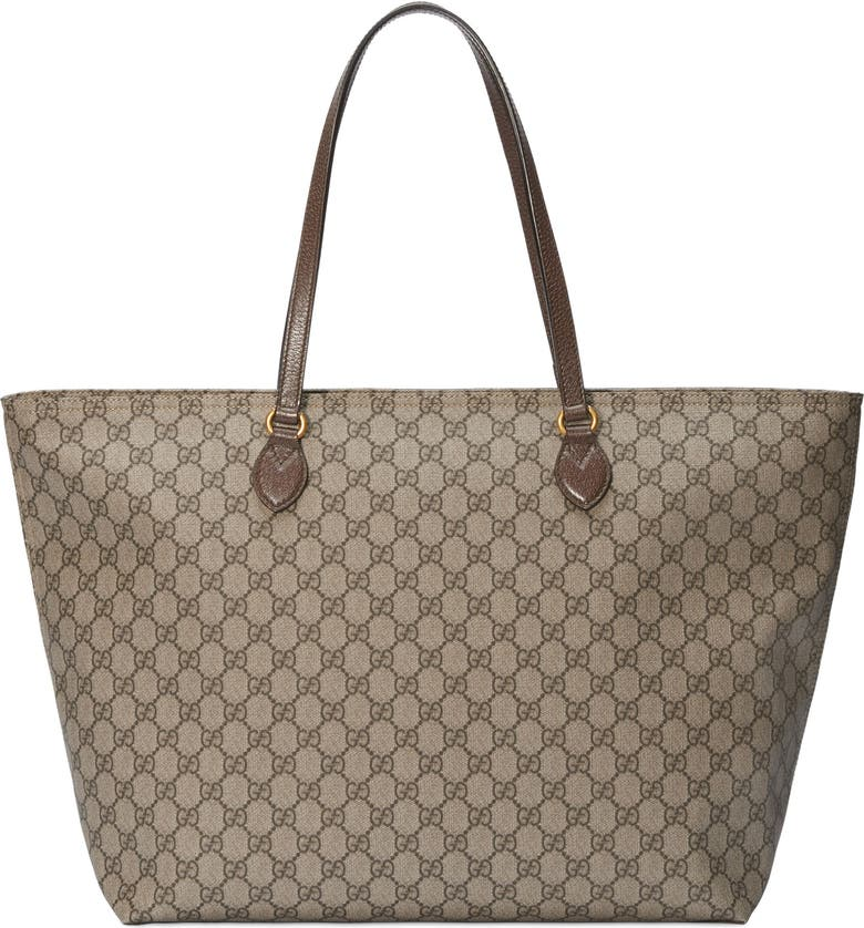 56e247e4d239 Gucci Medium Ophidia Soft GG Supreme Canvas Tote