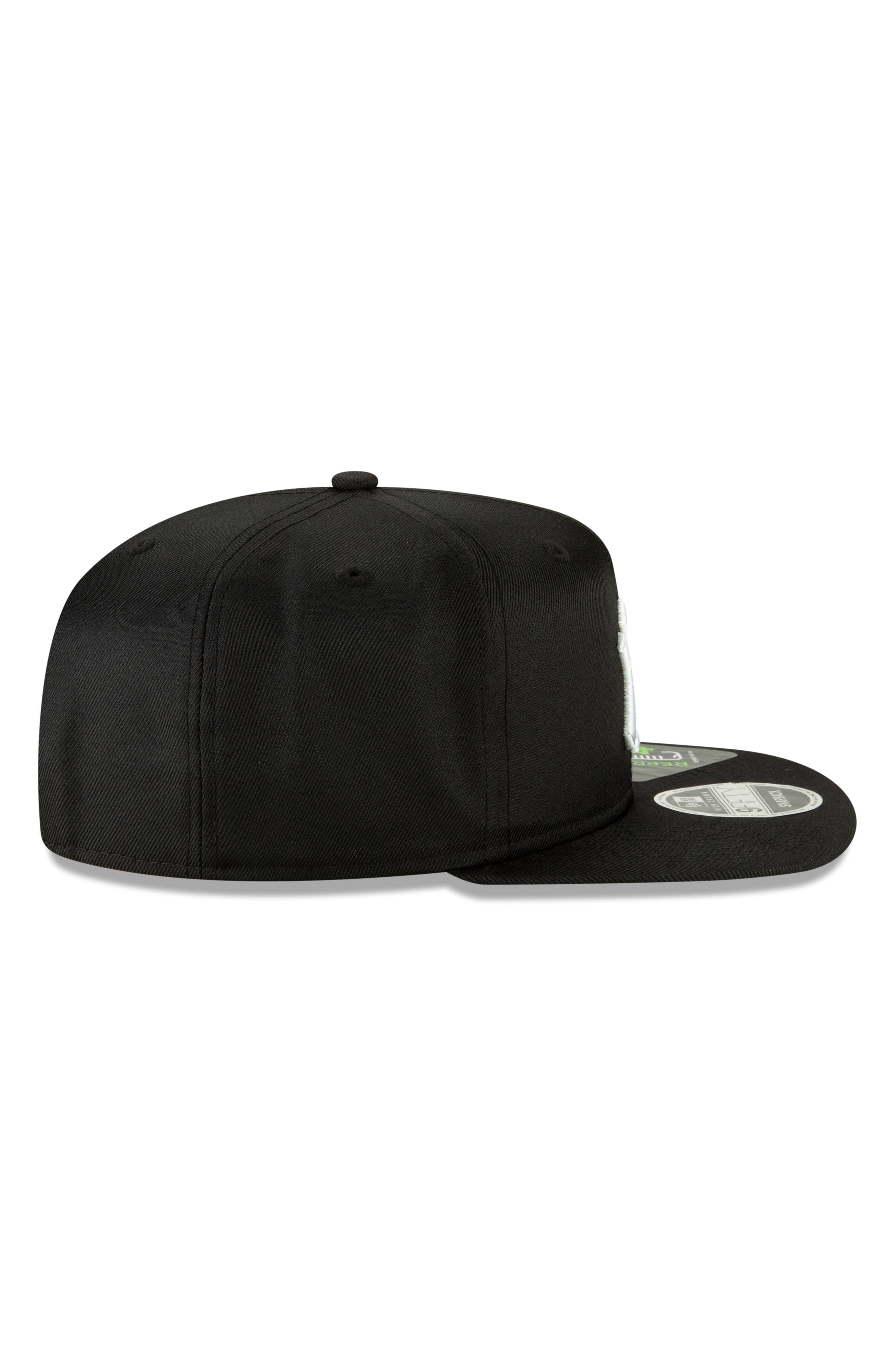 NEW ERA CAP, High Crown 9FIFTY Baseball Cap, Alternate thumbnail 3, color, YANKEES