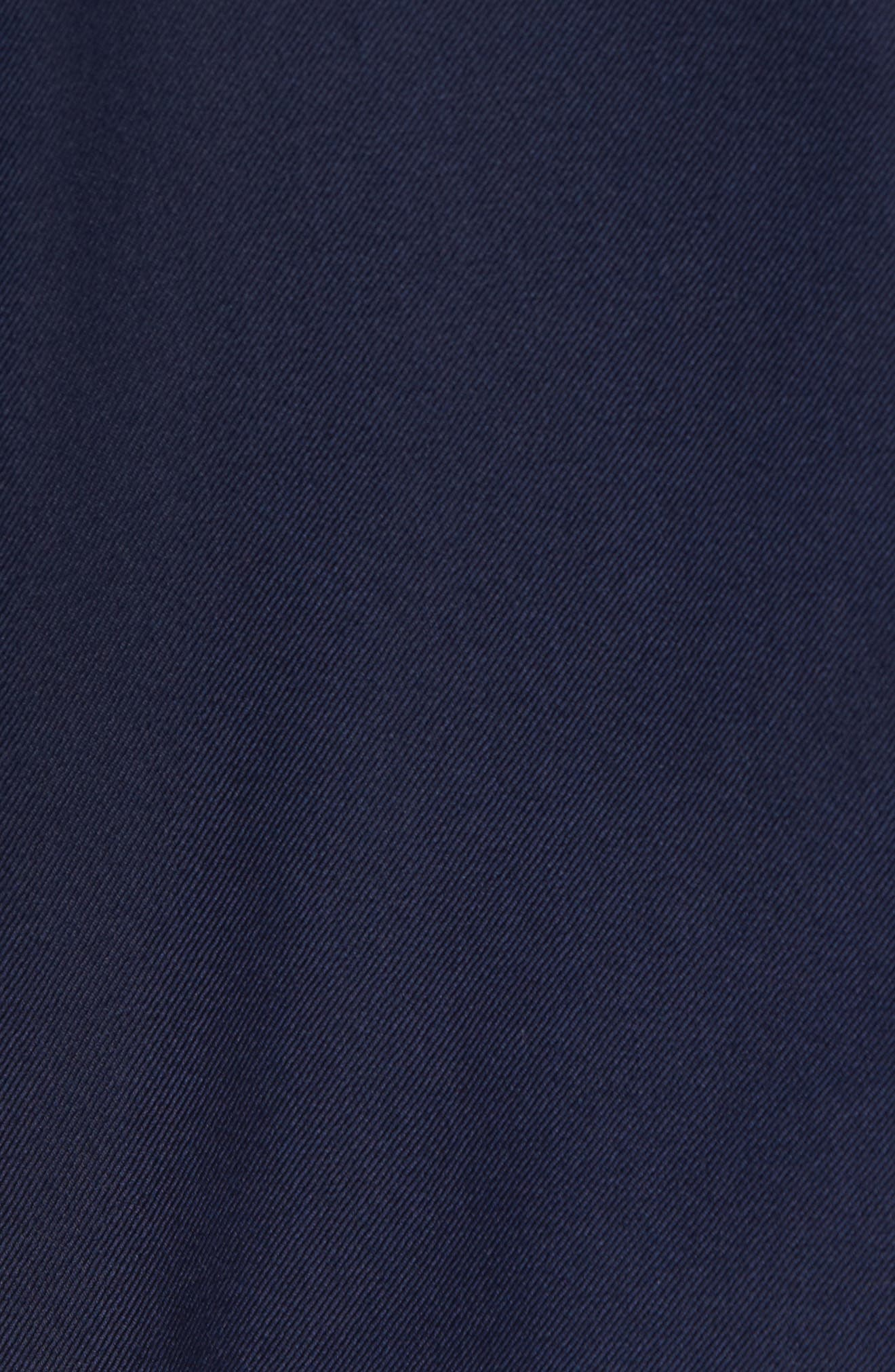 HICKEY FREEMAN, Classic B Fit Loro Piana Wool Suit, Alternate thumbnail 7, color, NAVY