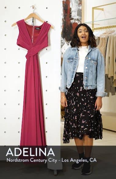 Vivid Imagination Chiffon Gown, sales video thumbnail