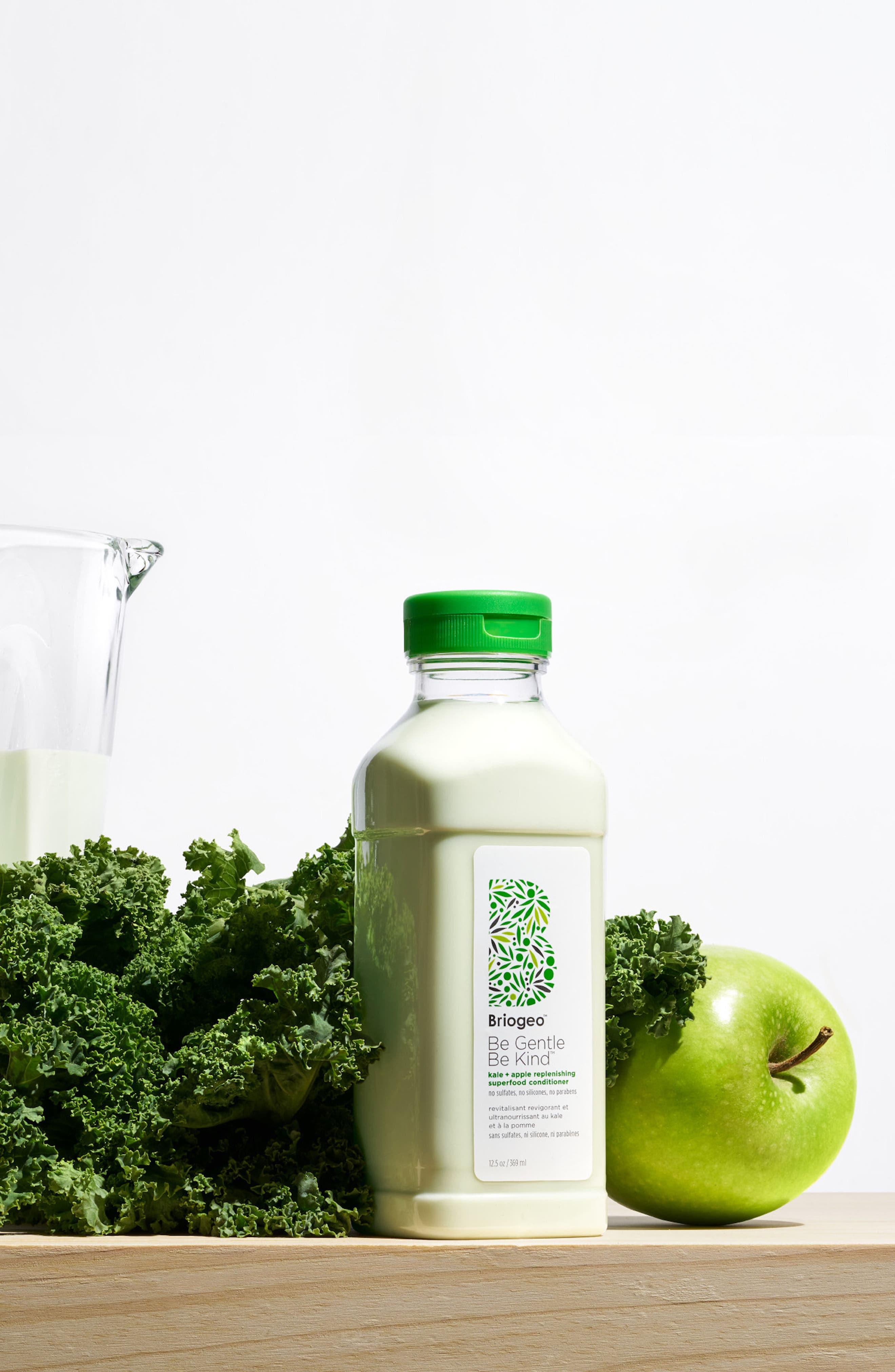 BRIOGEO, Be Gentle, Be Kind Kale + Apple Replenishing Superfood Conditioner, Alternate thumbnail 2, color, NO COLOR