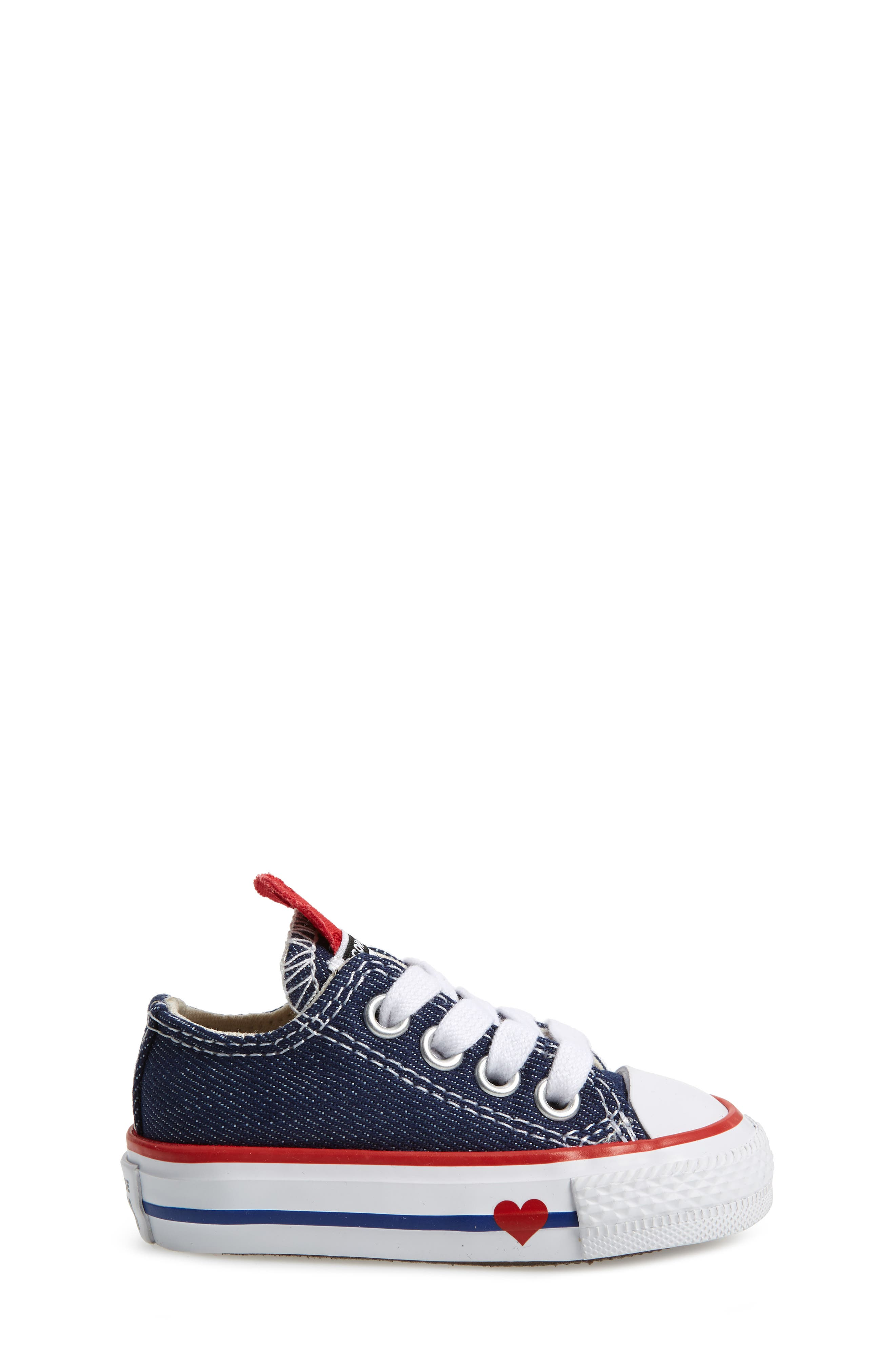 CONVERSE, Chuck Taylor<sup>®</sup> All Star<sup>®</sup> Ox Low Top Sneaker, Alternate thumbnail 3, color, 410