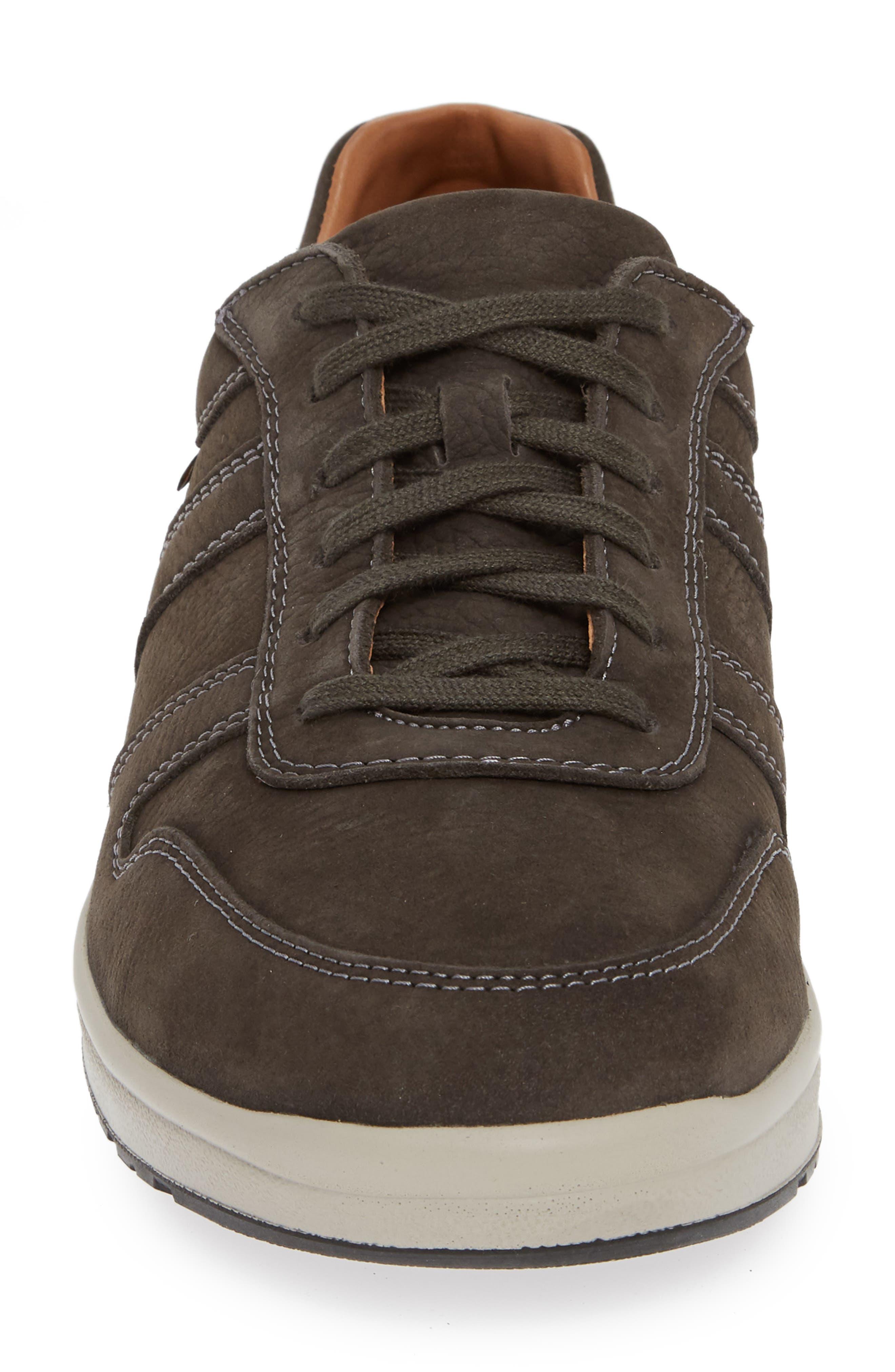 MEPHISTO, Vito Sneaker, Alternate thumbnail 4, color, GRAPHITE SPORTBUCK