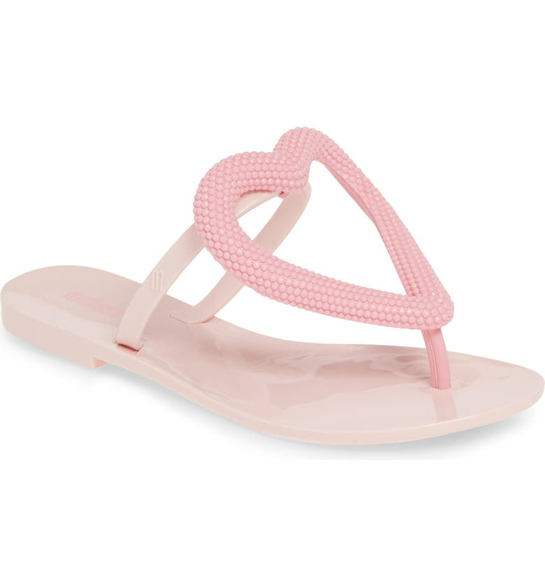 Melissa Slippers BIG HEART FLIP FLOP