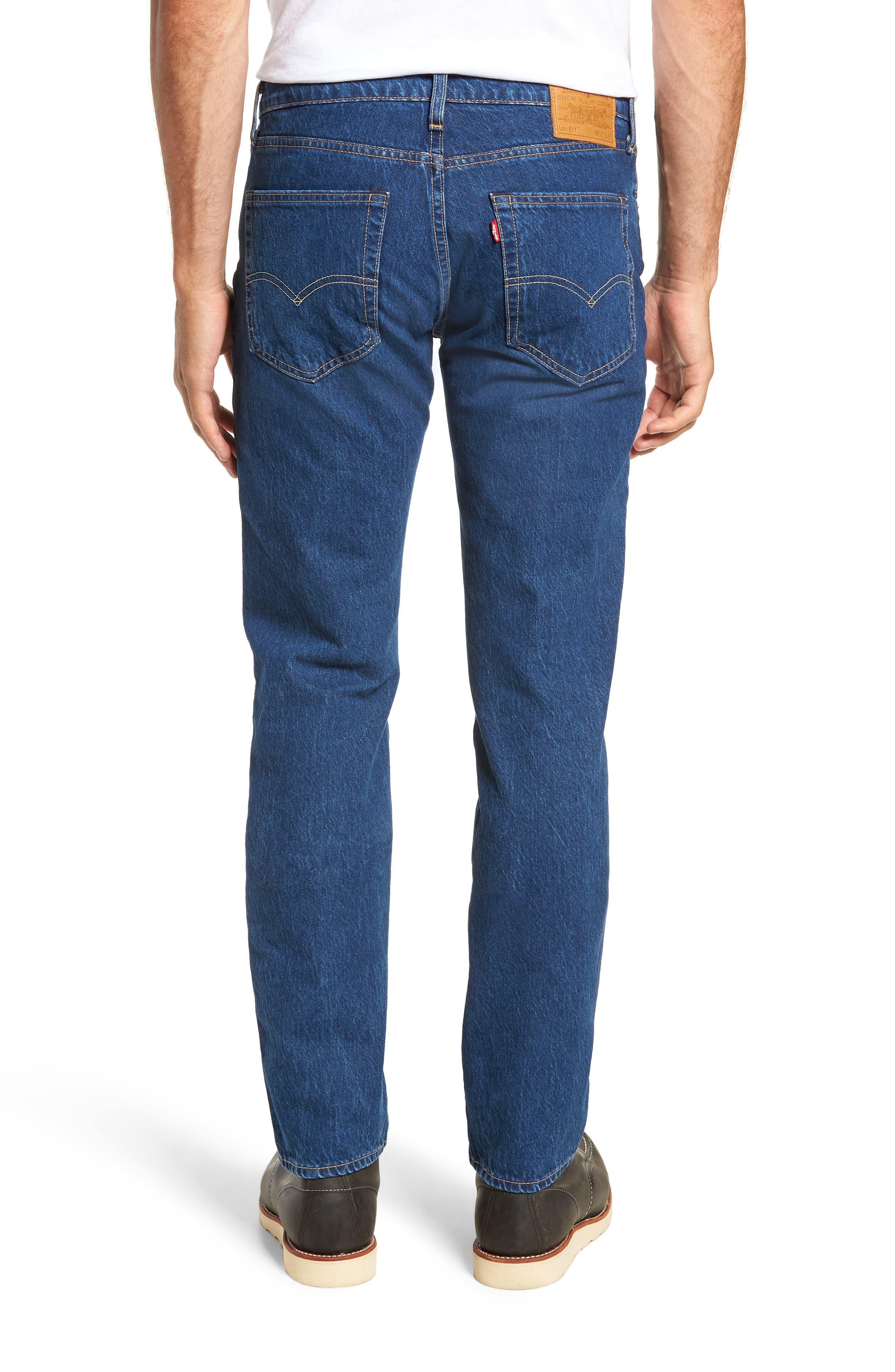 LEVI'S<SUP>®</SUP>, 511<sup>™</sup> Slim Fit Jeans, Alternate thumbnail 2, color, DANZA STONE