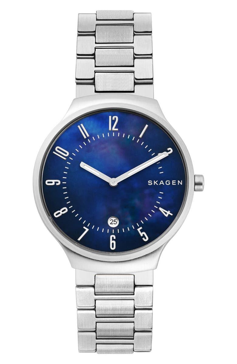 Skagen Watches GRENEN BRACELET STRAP WATCH, 38MM