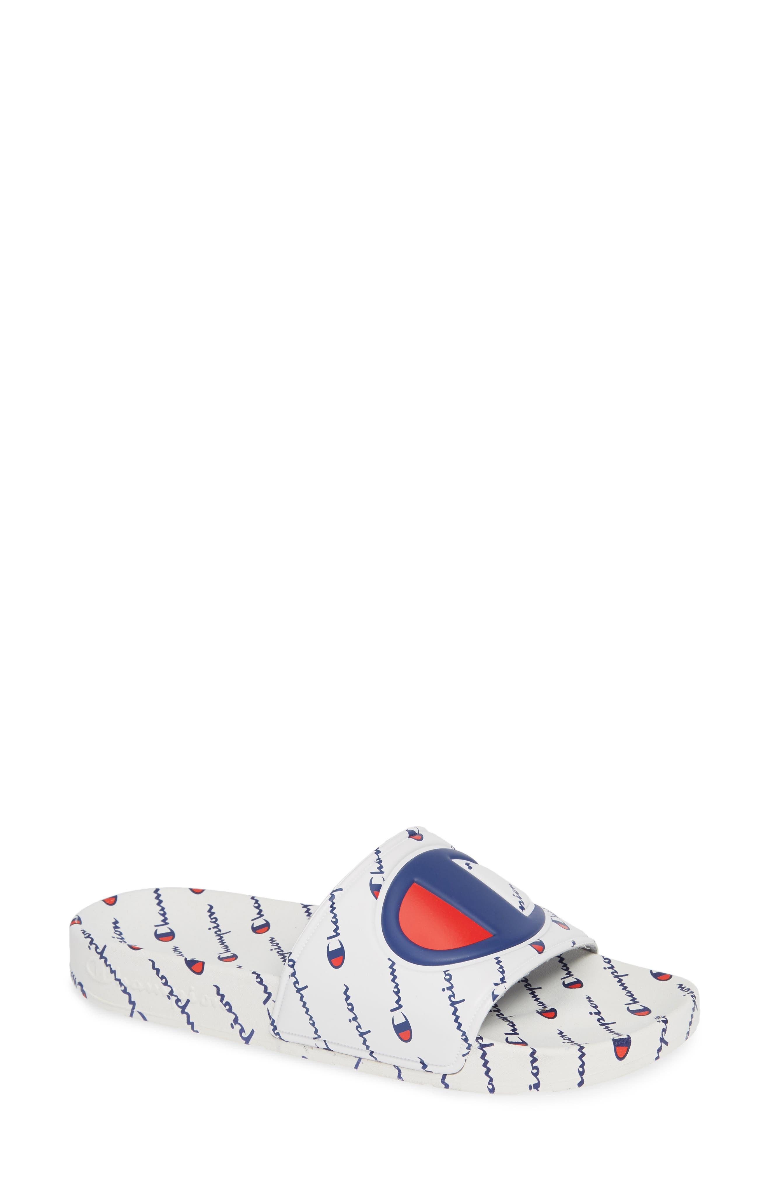 CHAMPION IPO Repeat Sport Slide Sandal, Main, color, 100