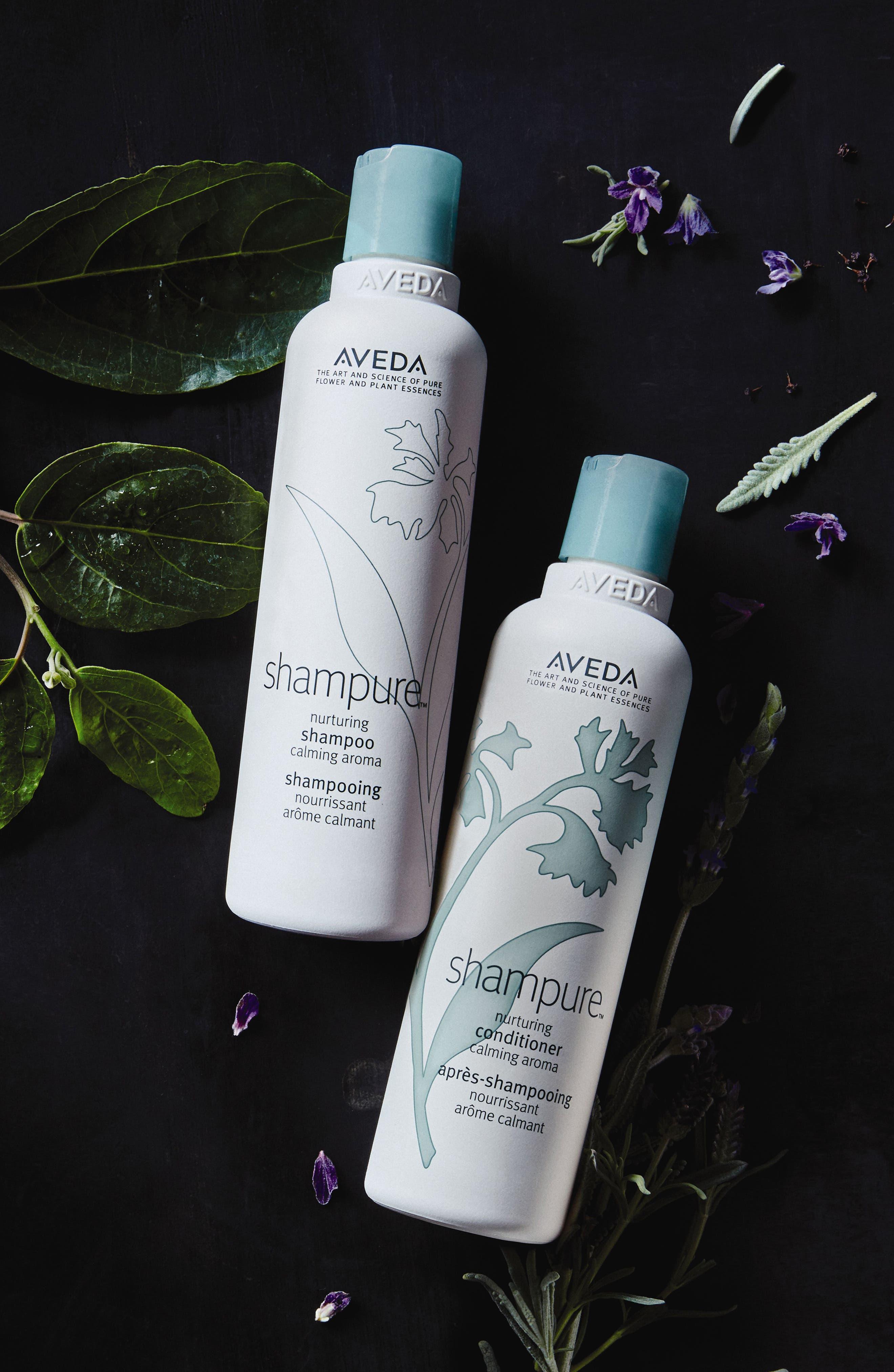 AVEDA, shampure<sup>™</sup> Nurturing Conditioner, Alternate thumbnail 5, color, NO COLOR