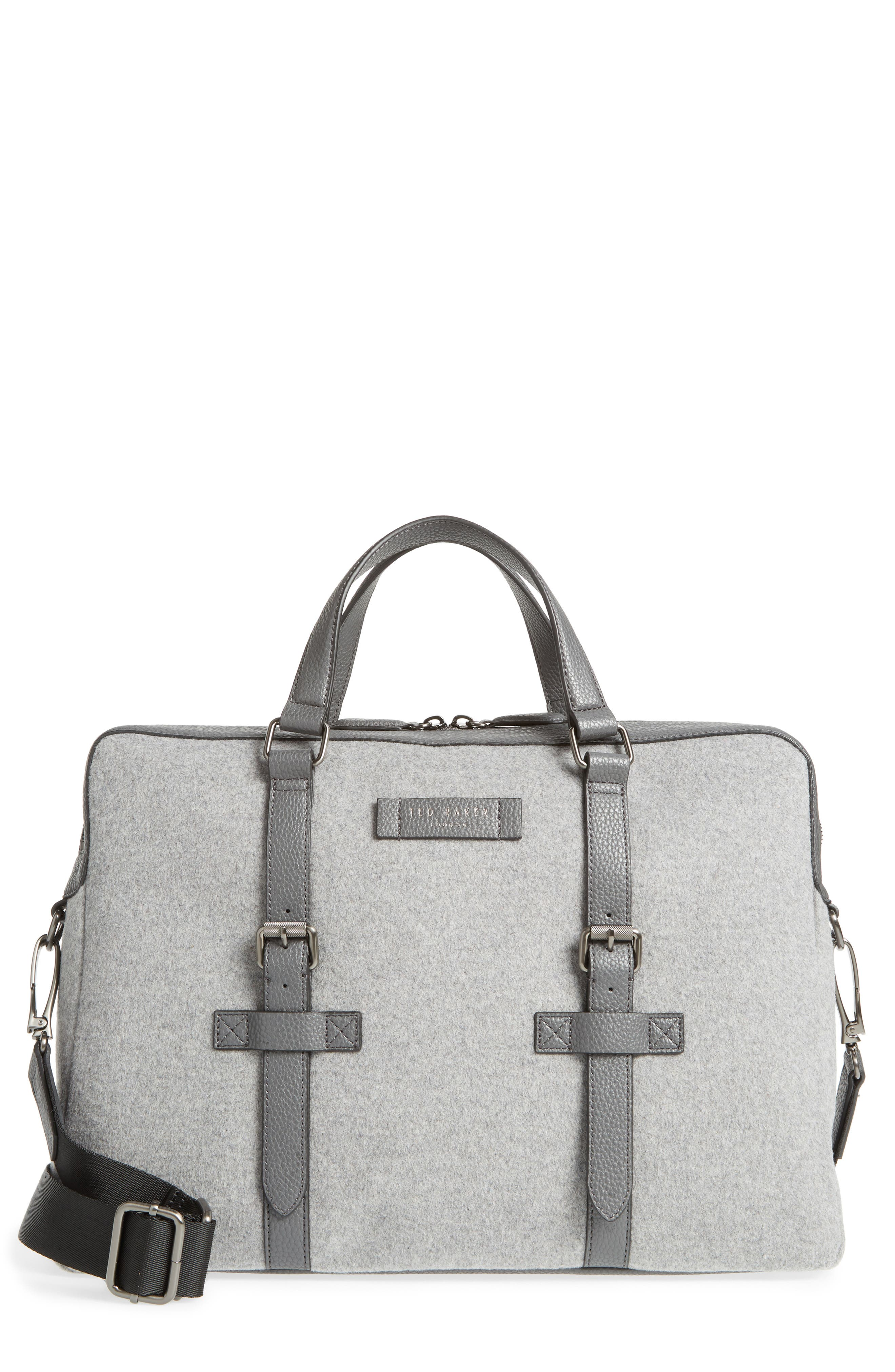 TED BAKER LONDON Cabble Briefcase, Main, color, 030