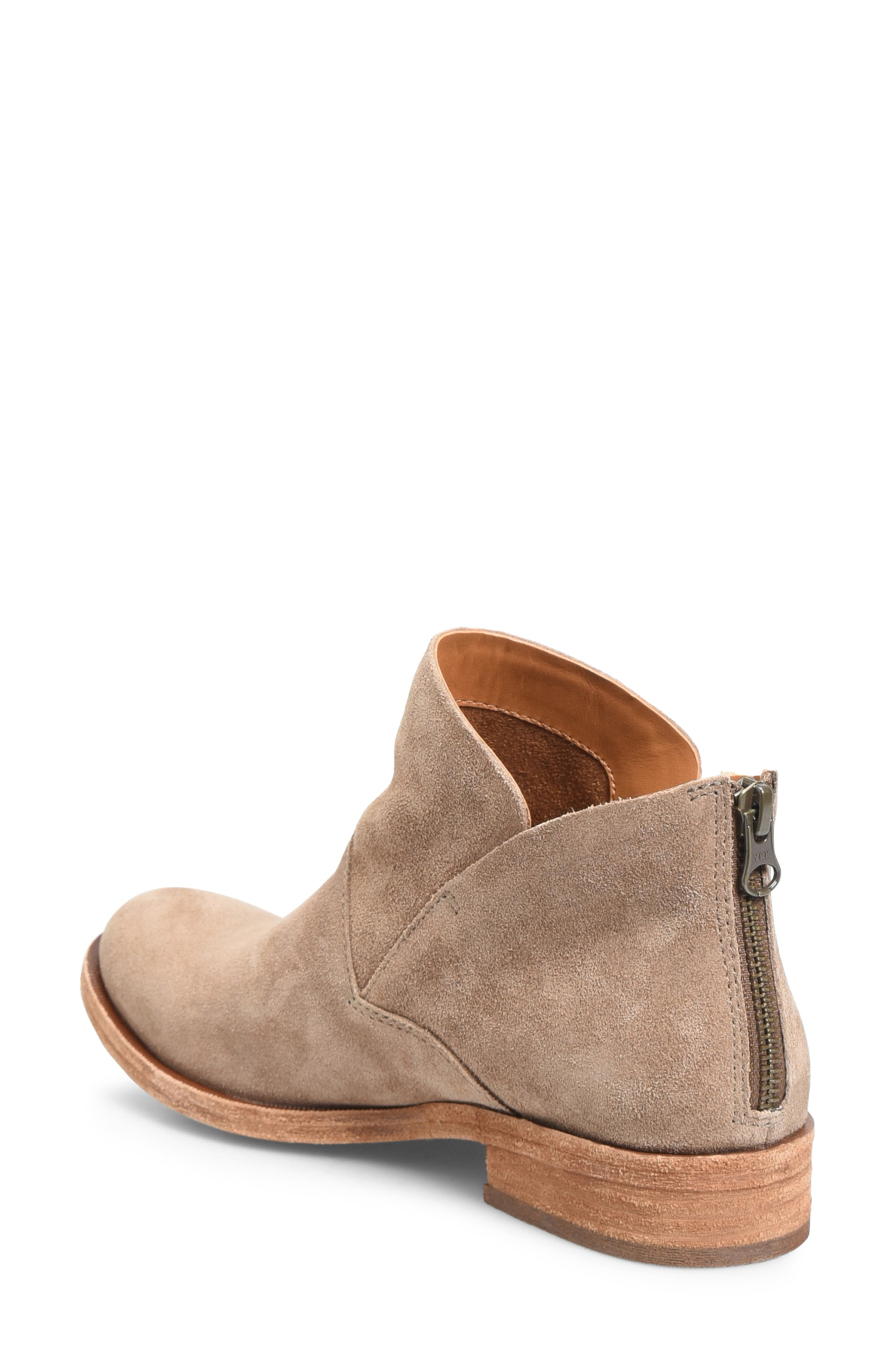 KORK-EASE<SUP>®</SUP>, Ryder Ankle Boot, Alternate thumbnail 2, color, TAUPE GREY SUEDE