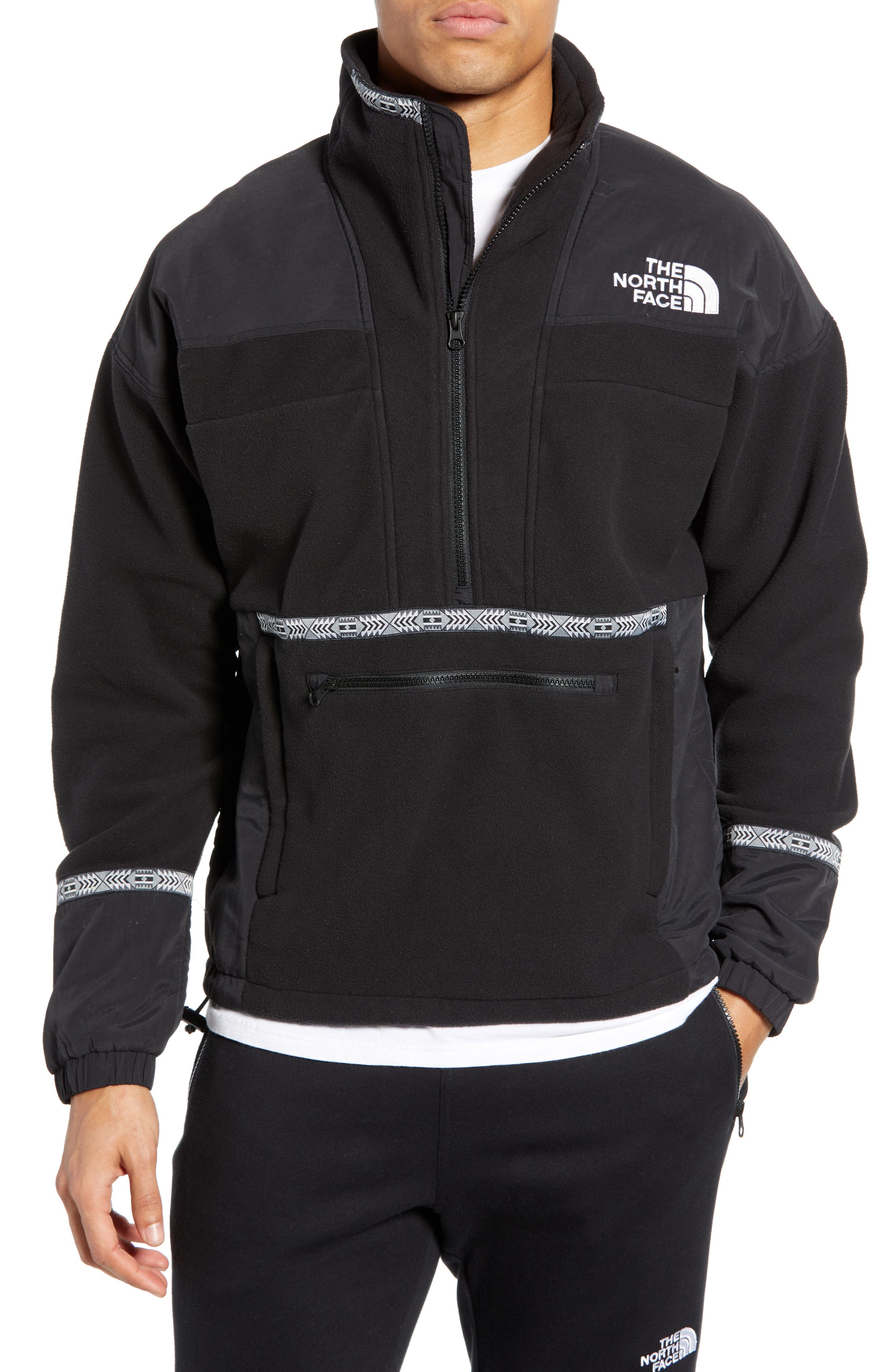 THE NORTH FACE, 1992 Rage Collection Fleece Anorak, Main thumbnail 1, color, 001