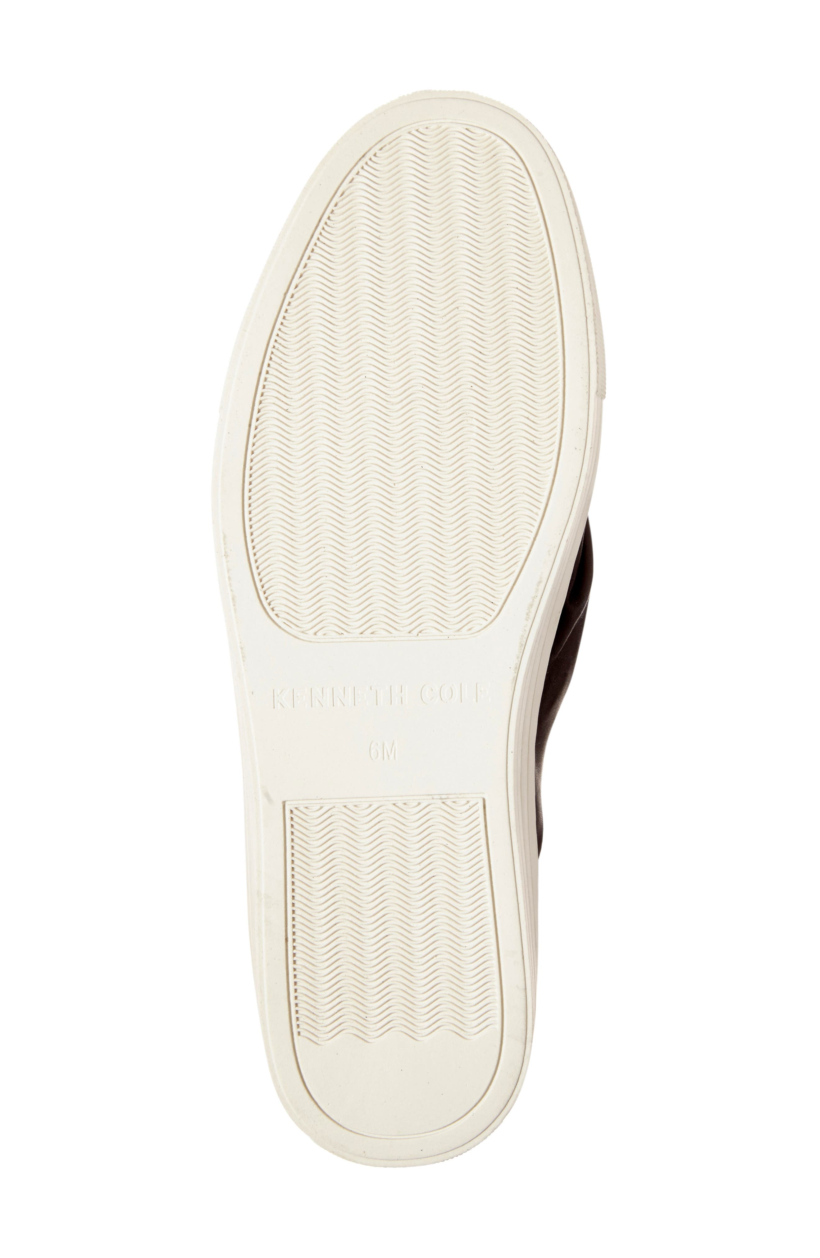 KENNETH COLE NEW YORK, Kenneth Cole Aaron Twisted Knot Flatform Sneaker, Alternate thumbnail 4, color, 001