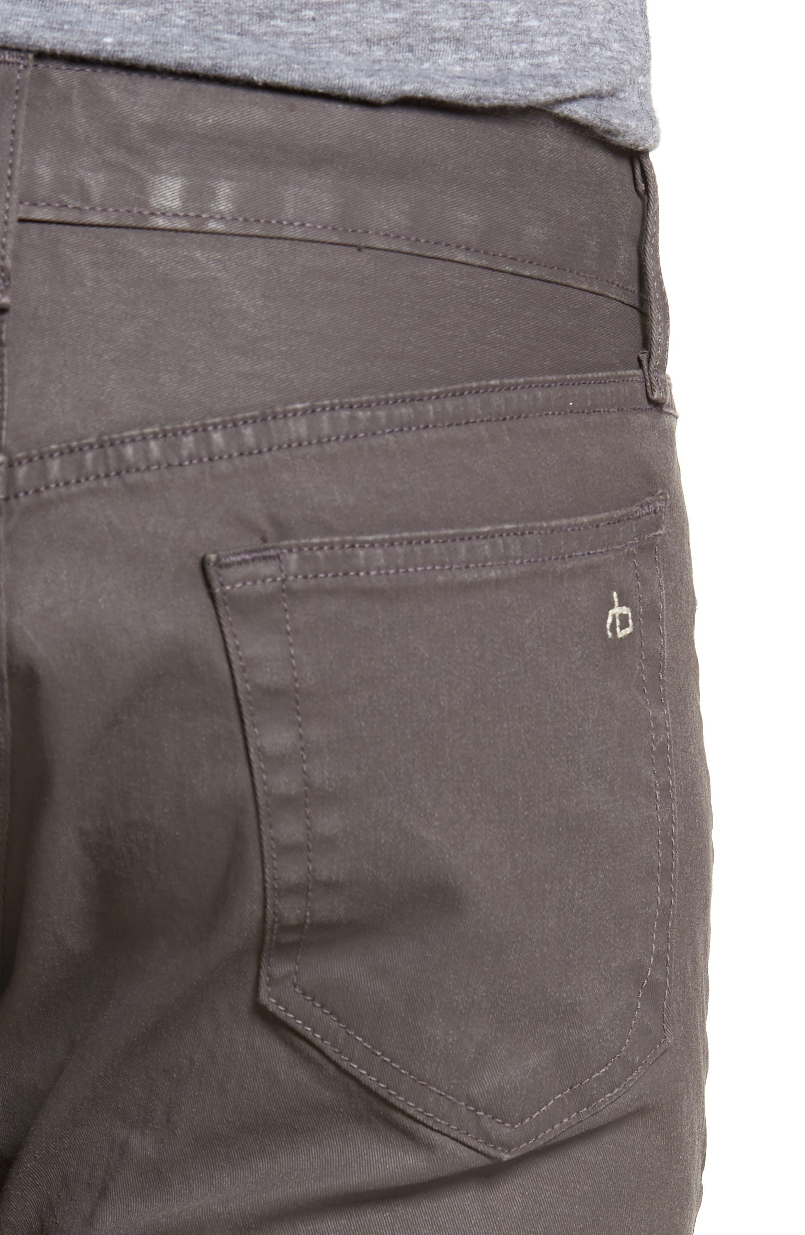 RAG & BONE, Fit 2 Slim Fit Pants, Alternate thumbnail 4, color, 020