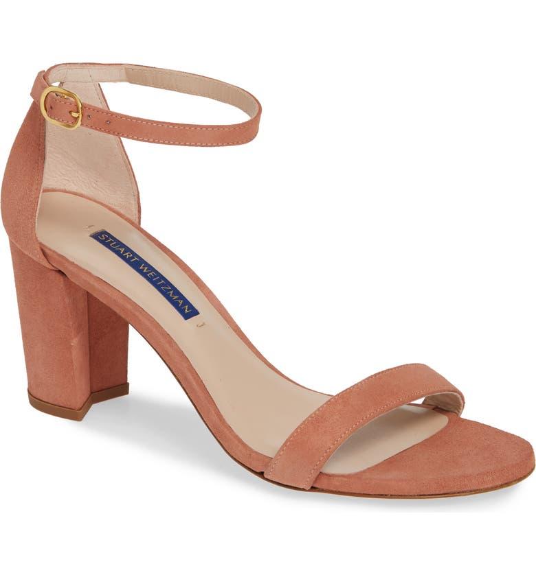 12c42118608 Stuart Weitzman NearlyNude Ankle Strap Sandal (Women)
