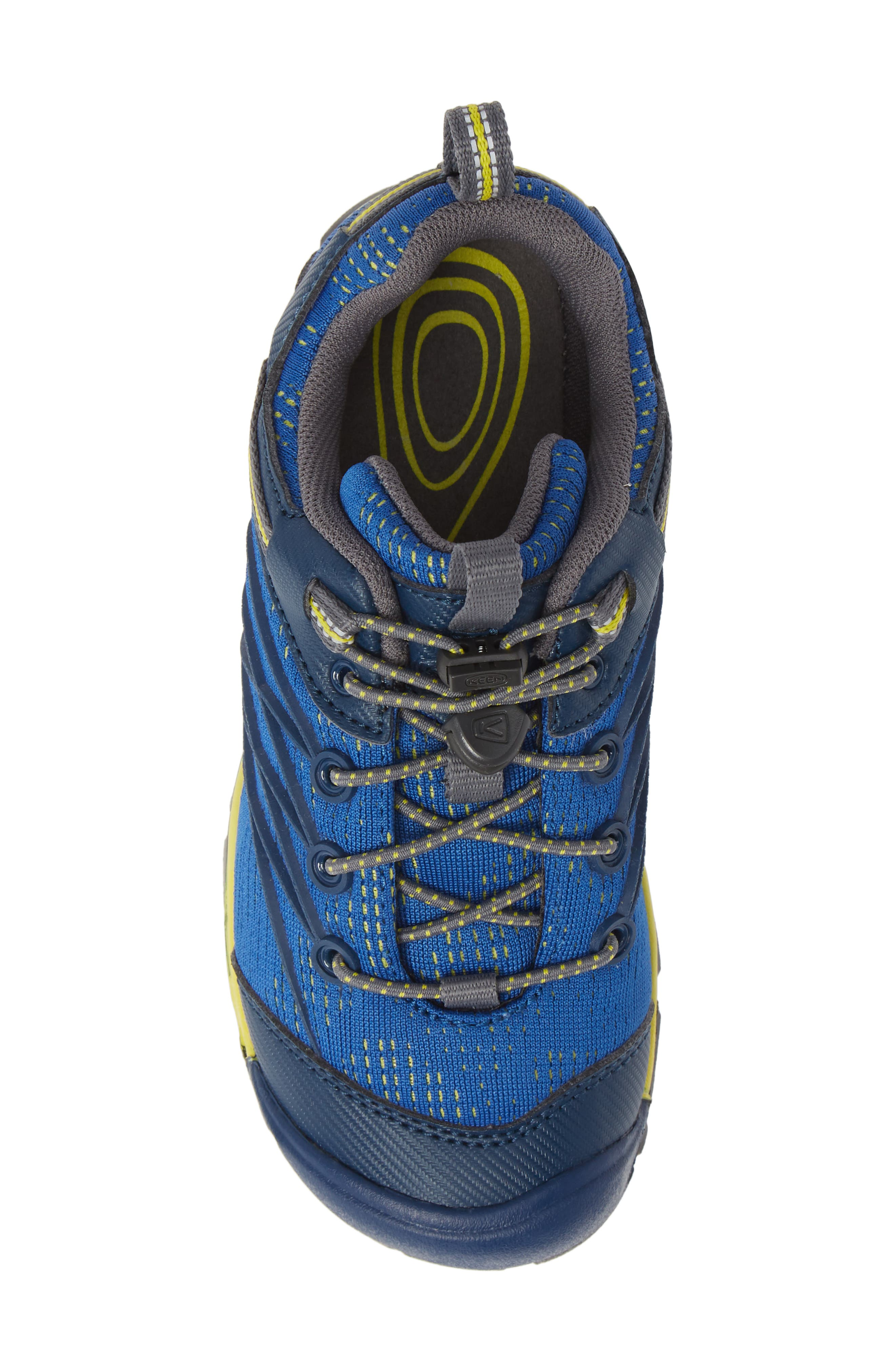 KEEN, 'Chandler CNX' Water Friendly Sneaker, Alternate thumbnail 5, color, BLUE OPAL/ BLUE
