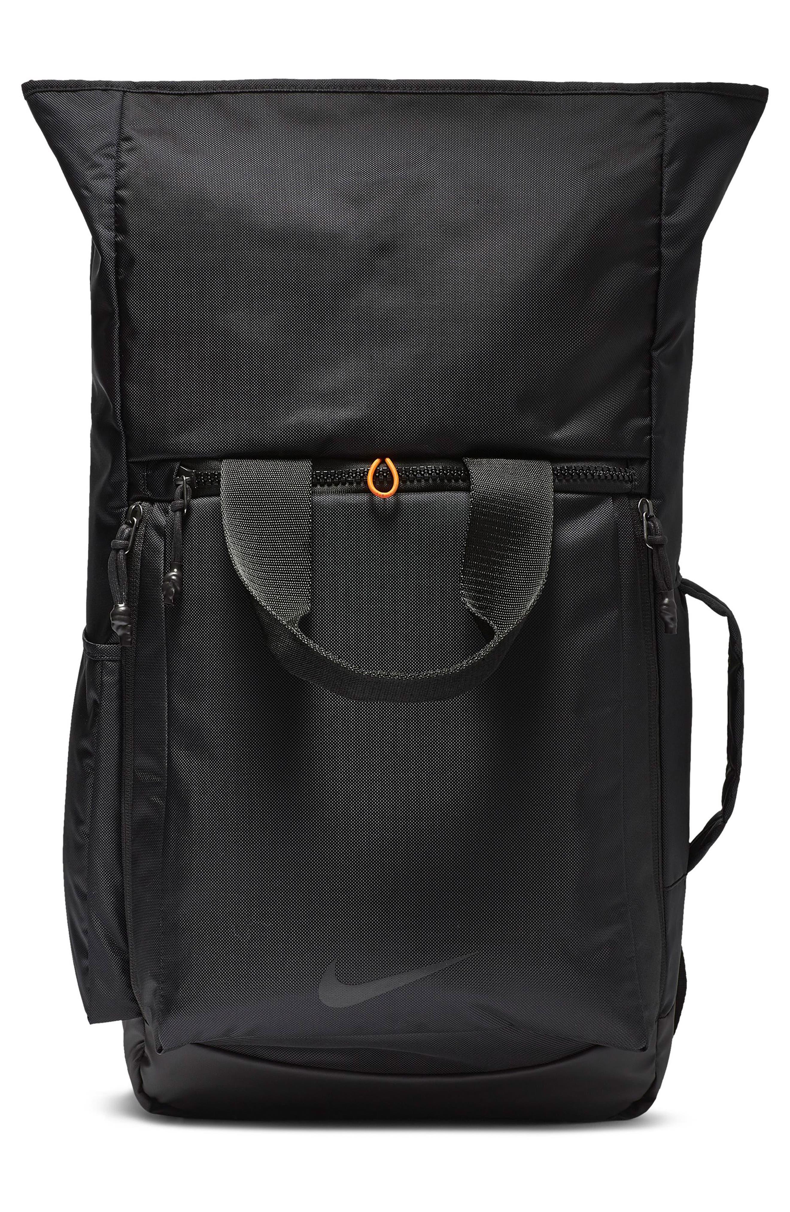 NIKE, Vapor Energy 2.0 Training Backpack, Alternate thumbnail 6, color, BLACK