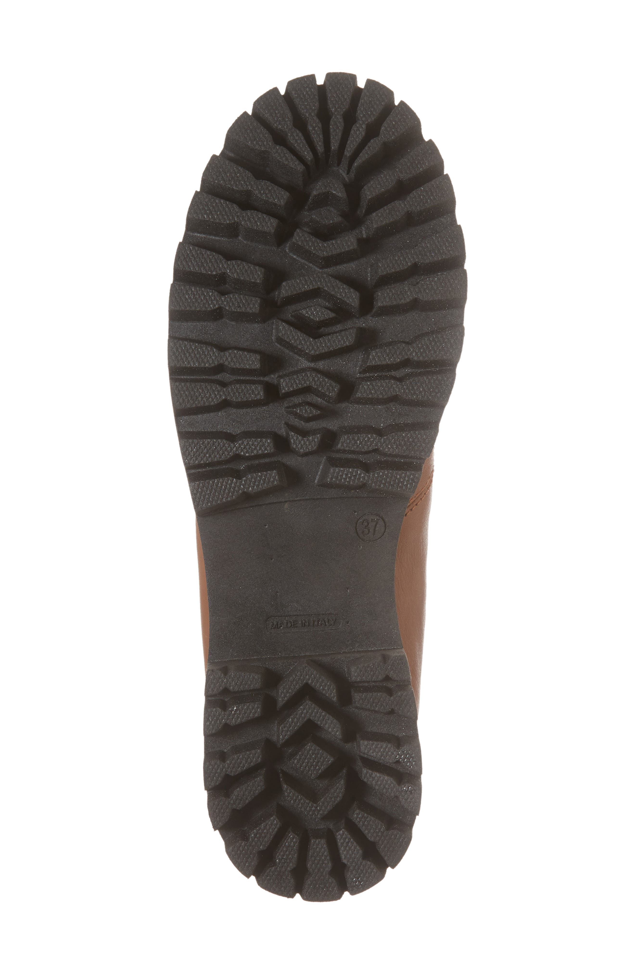 STEVE MADDEN, Boom Hiker Boot with Genuine Calf Hair, Alternate thumbnail 6, color, 200