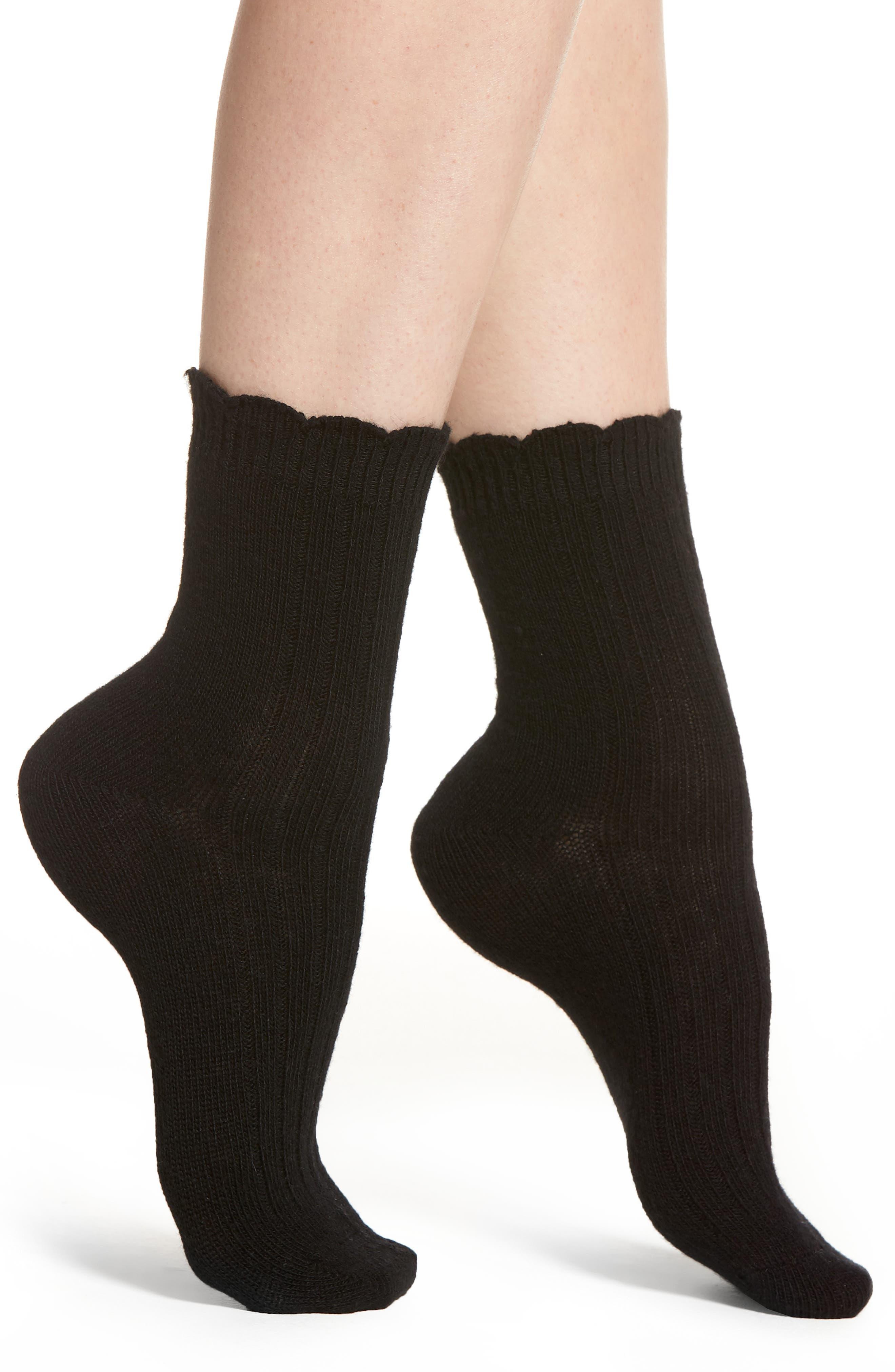 UGG<SUP>®</SUP> Nayomi Socks, Main, color, 001