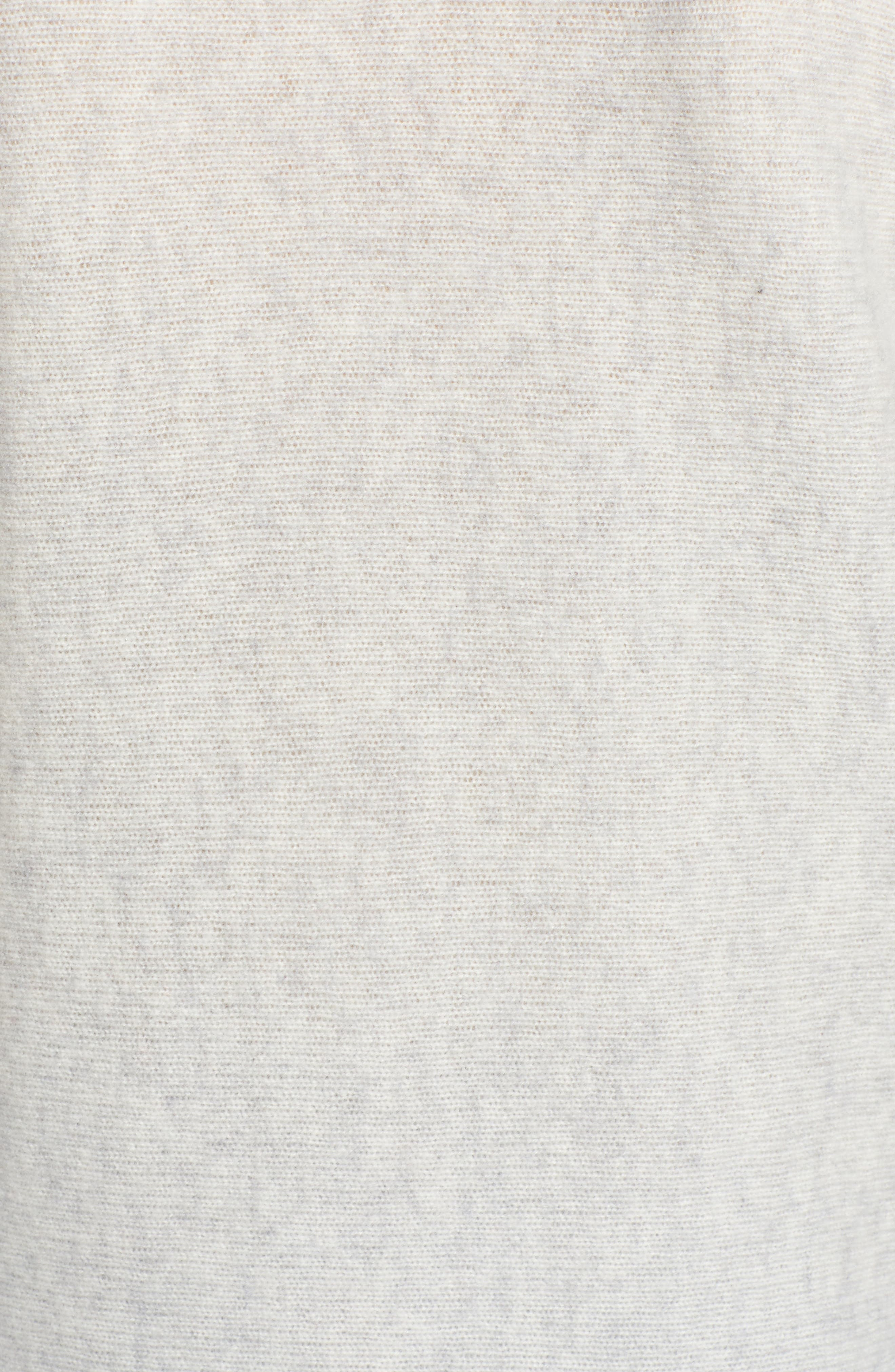 HALOGEN<SUP>®</SUP>, High/Low Wool & Cashmere Tunic Sweater, Alternate thumbnail 5, color, 023