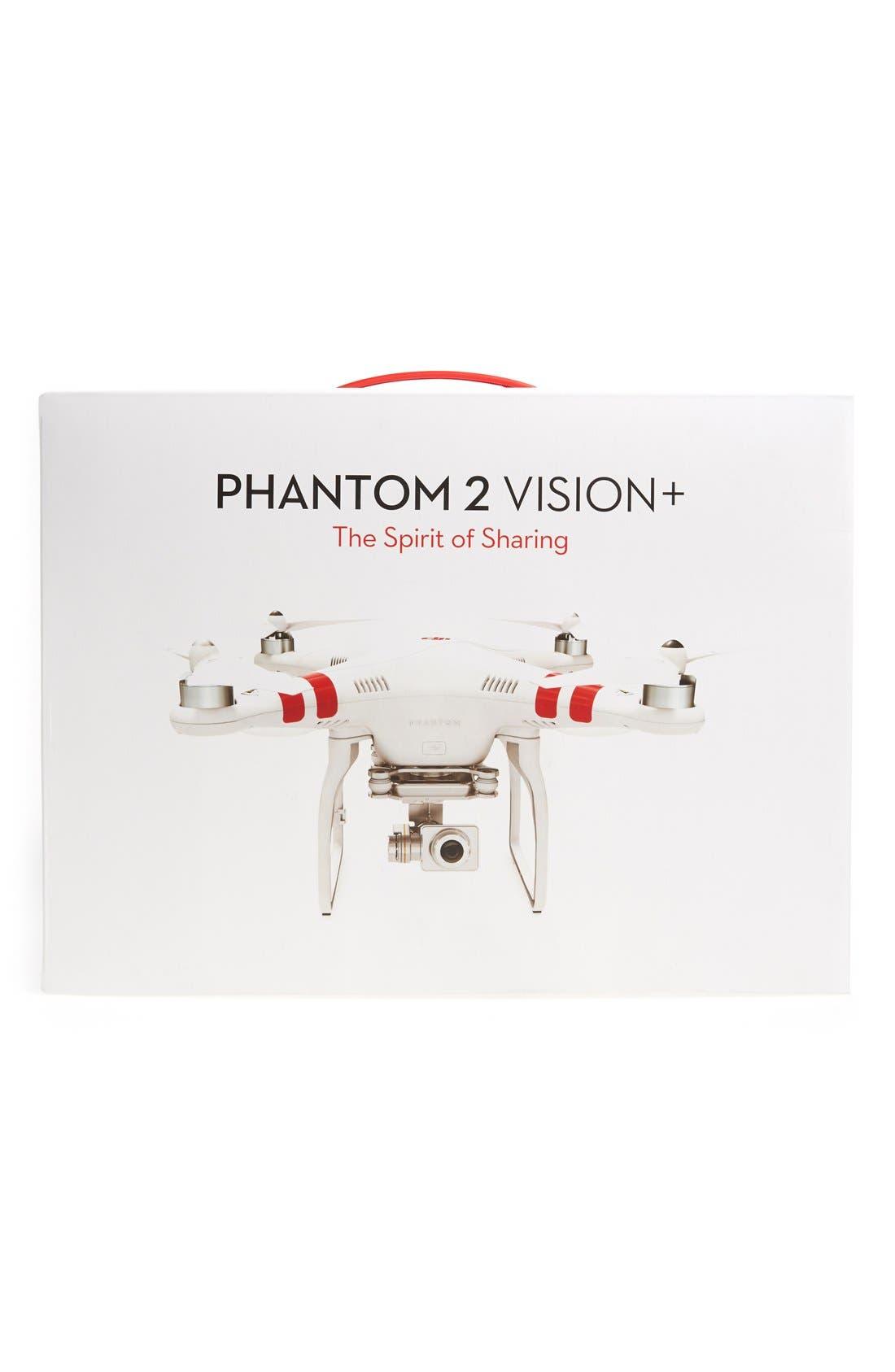 DJI, Phantom 2 Vision Plus Flying Video Camera, Alternate thumbnail 4, color, 100