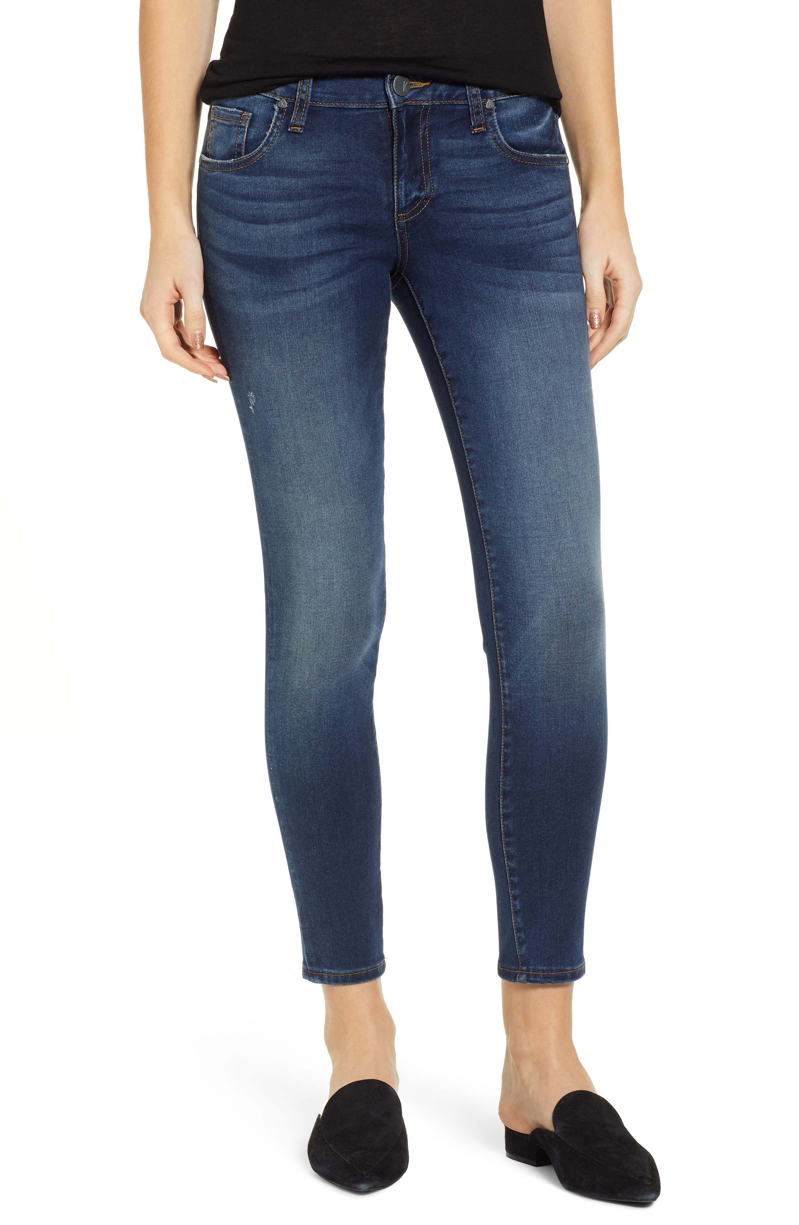 KUT FROM THE KLOTH, KUT From The Koth Donna Ankle Skinny Jeans, Main thumbnail 1, color, 400