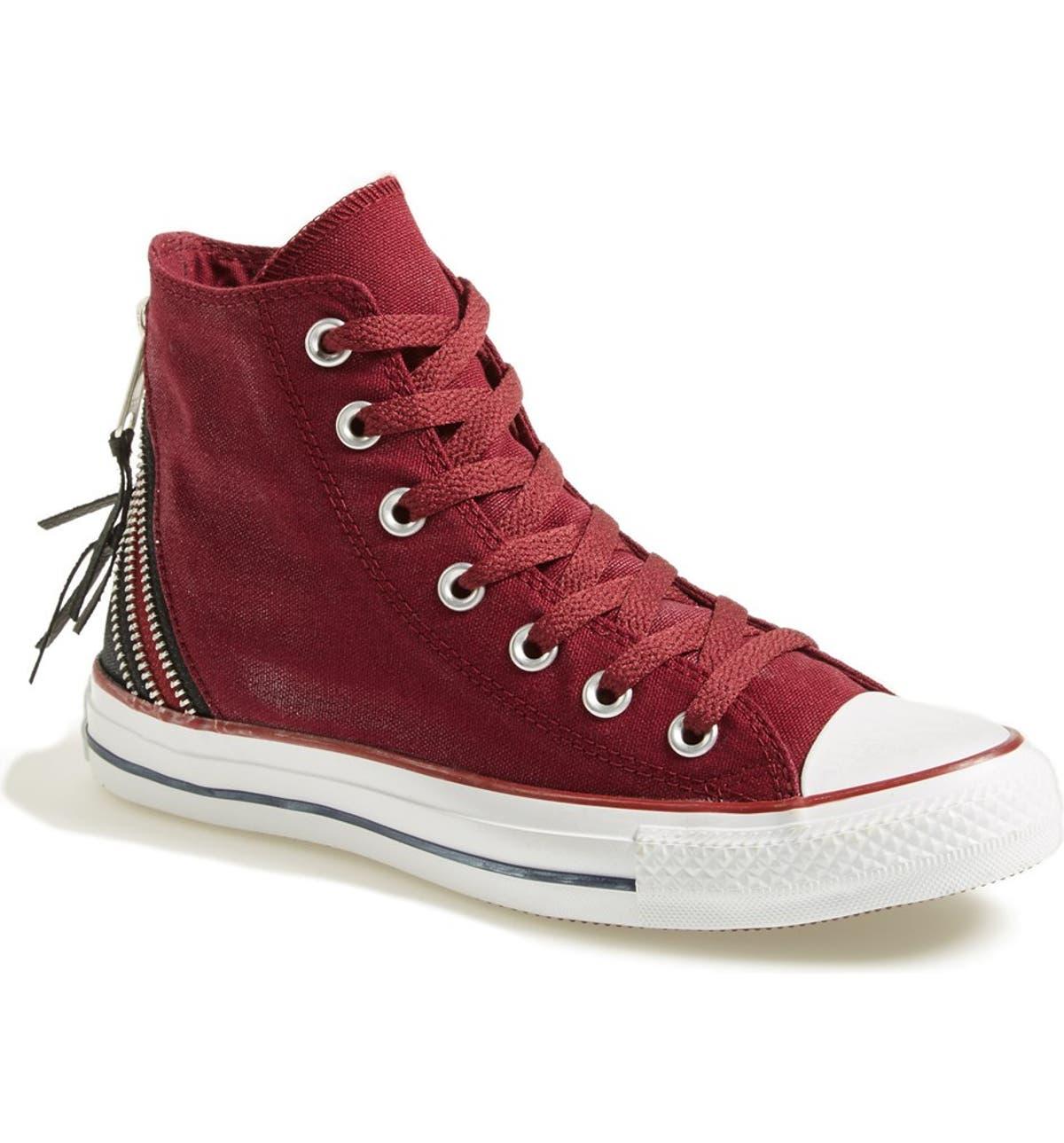 11afb16ca820 Converse Chuck Taylor® All Star® Triple Zip Canvas Sneaker (Women ...