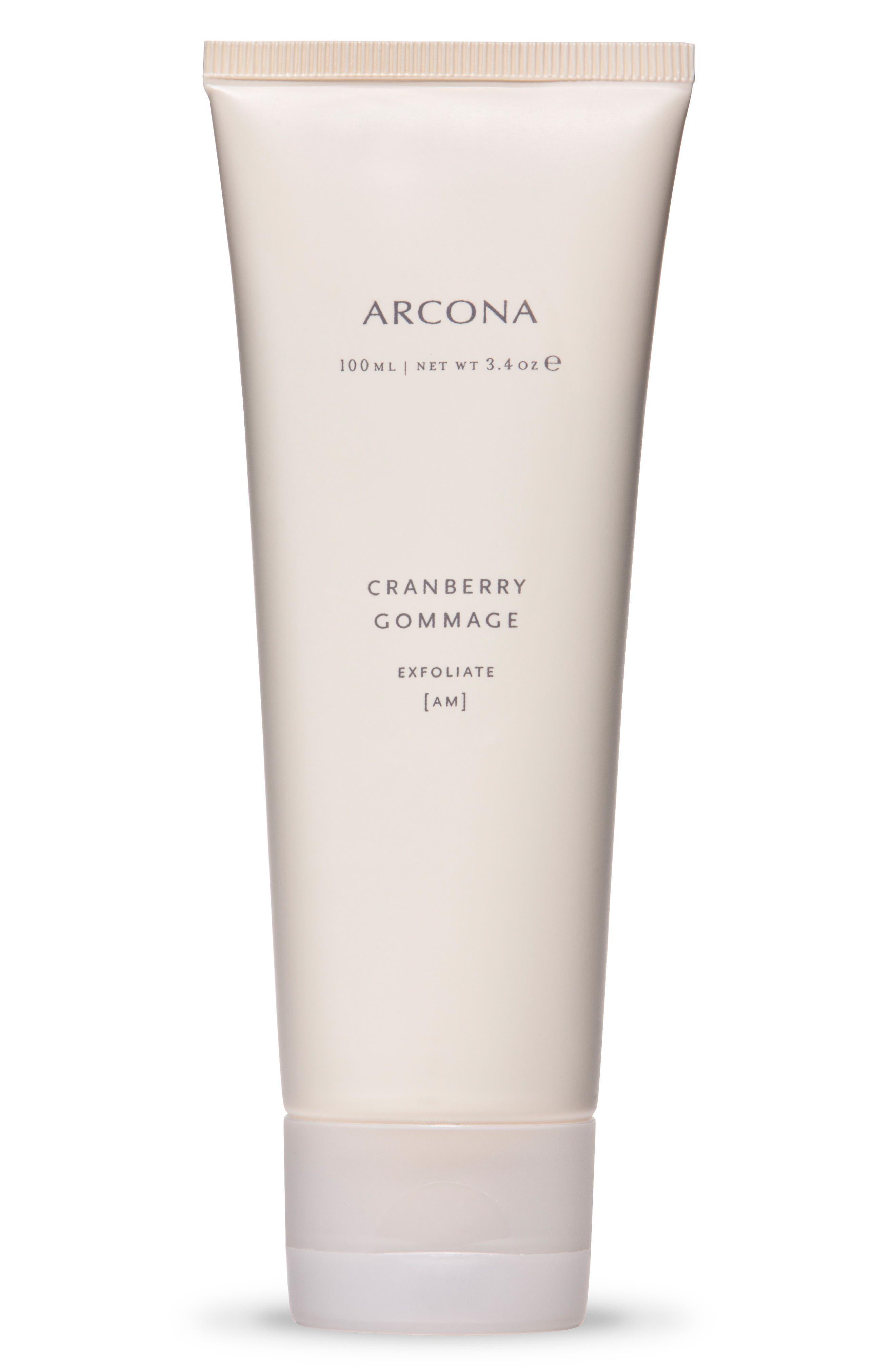 ARCONA, Cranberry Gommage Exfoliant, Main thumbnail 1, color, NO COLOR