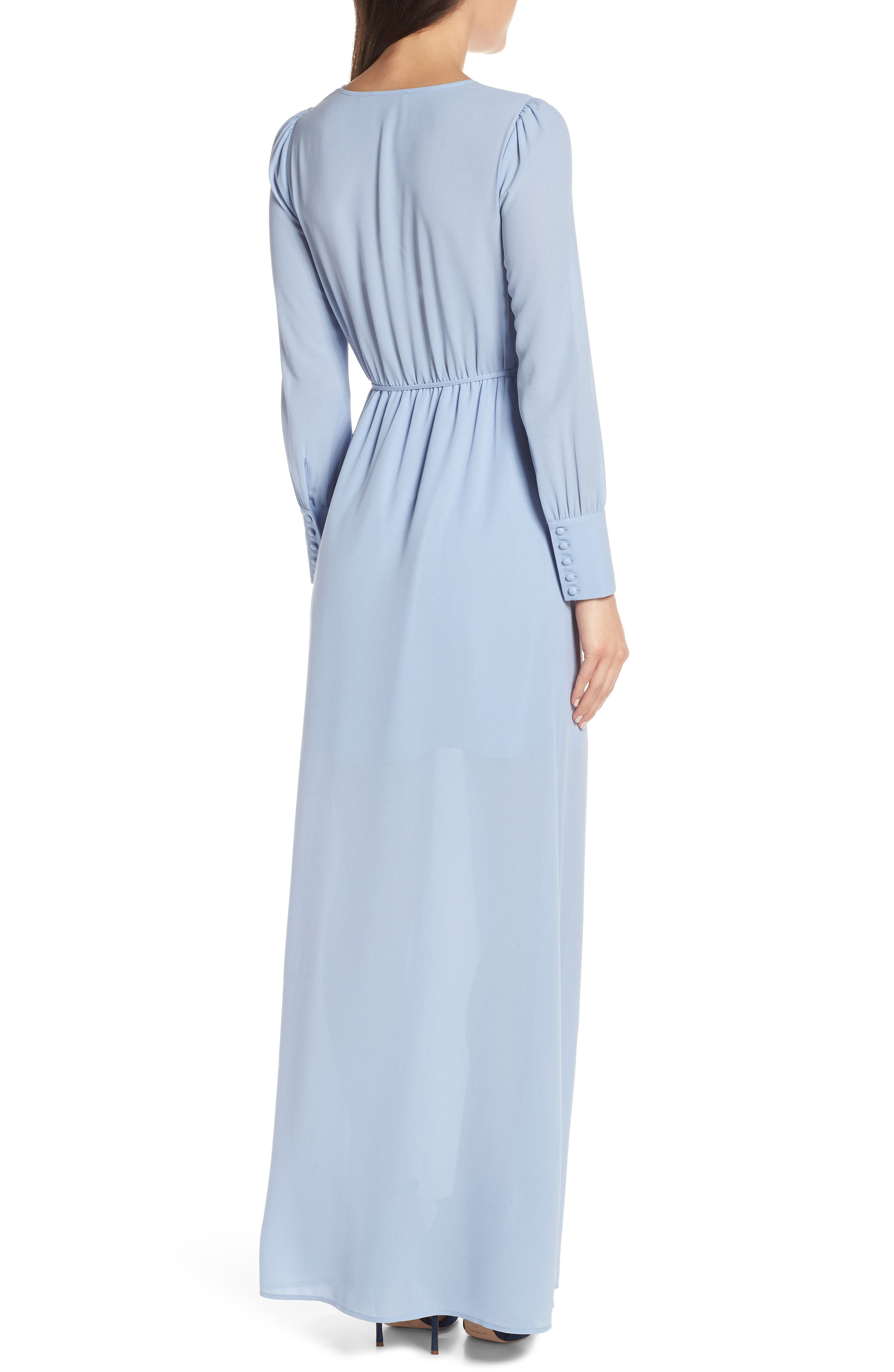 ALI & JAY, Garden Stroll Wrap Maxi Dress, Alternate thumbnail 2, color, 400