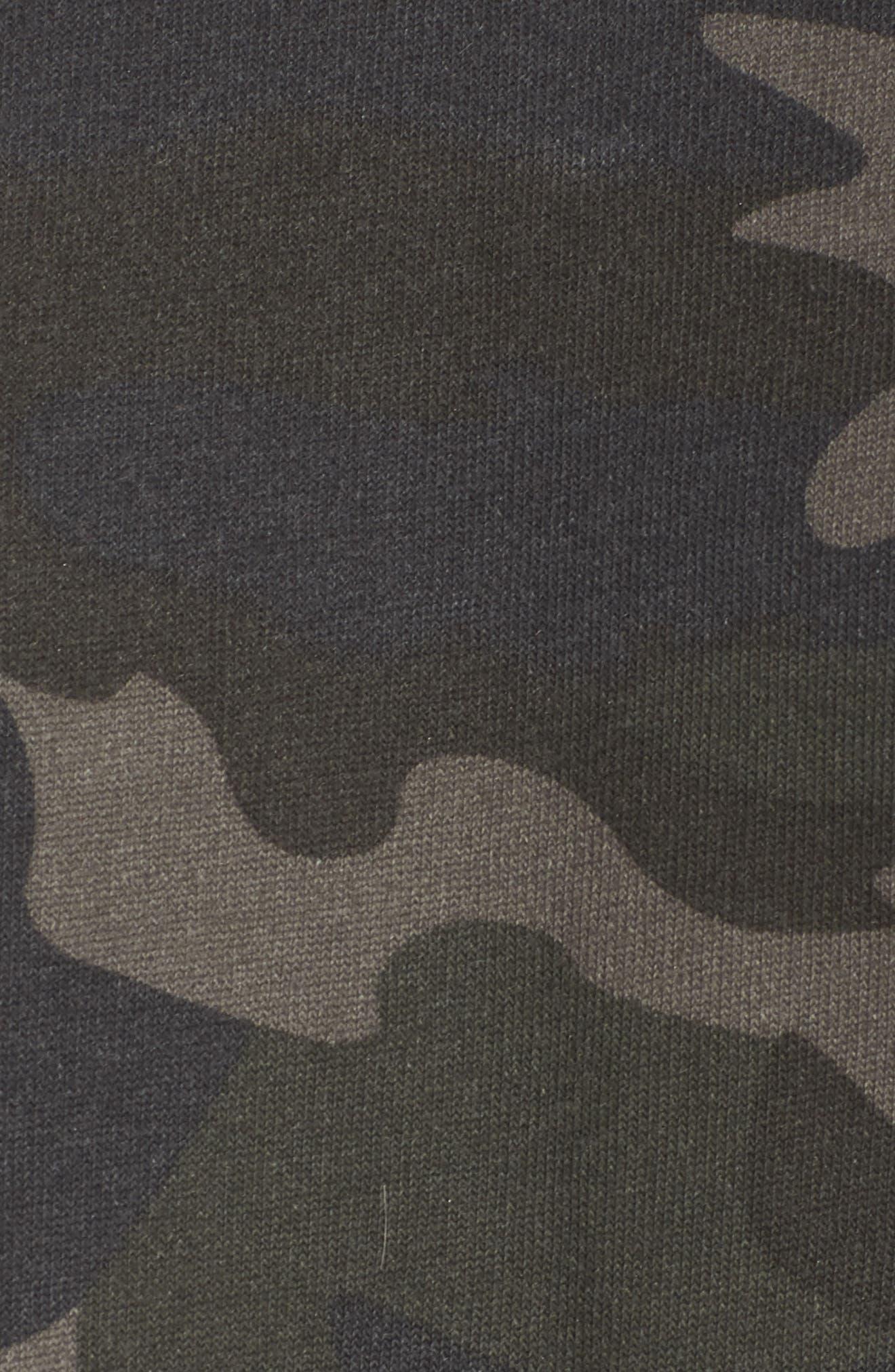 RAGDOLL, Camo Oversize Sweatshirt, Alternate thumbnail 5, color, CAMO
